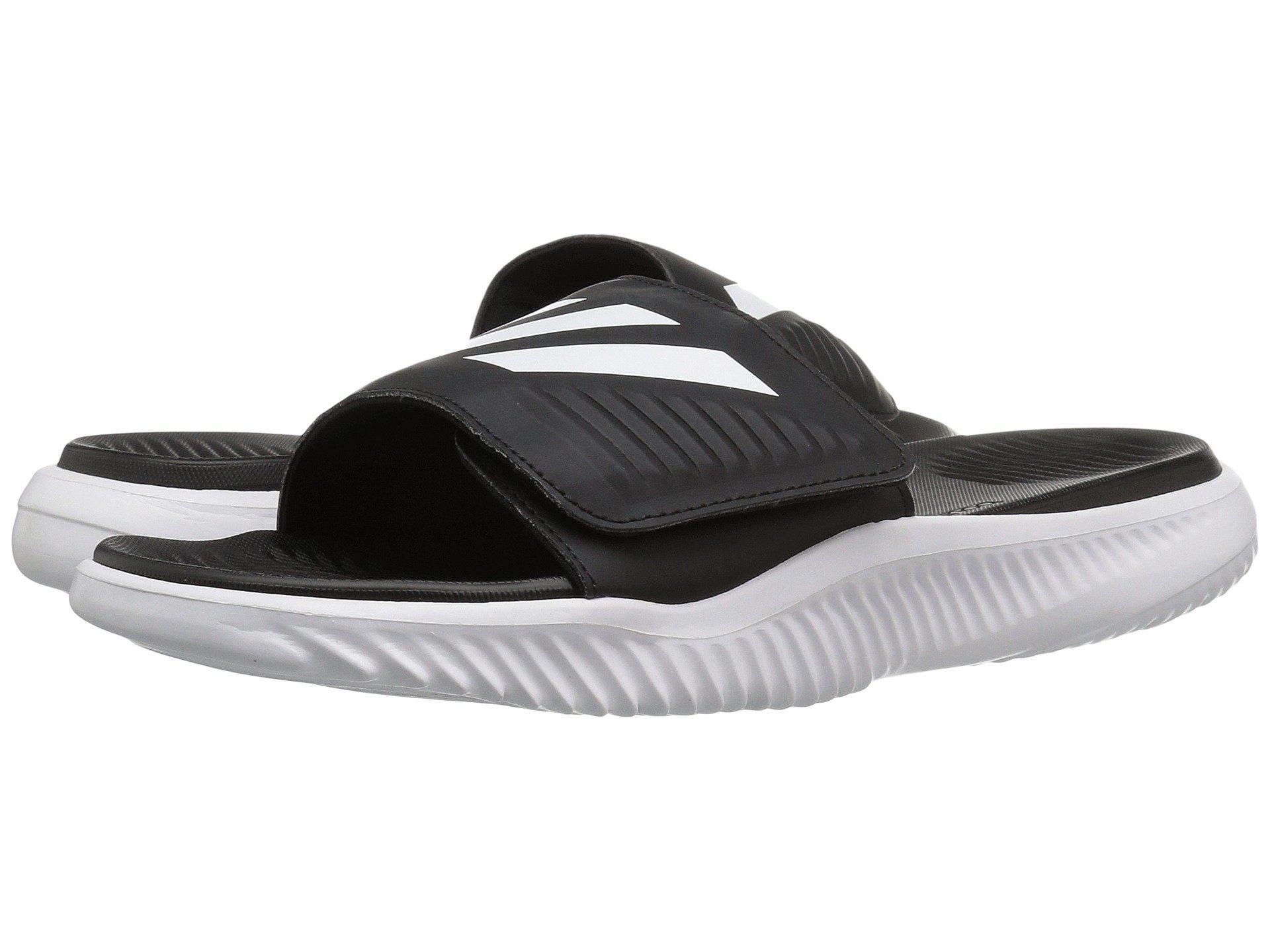 a97cb51e56962 Lyst - adidas Alphabounce Slide (black black) Men s Slide Shoes in ...