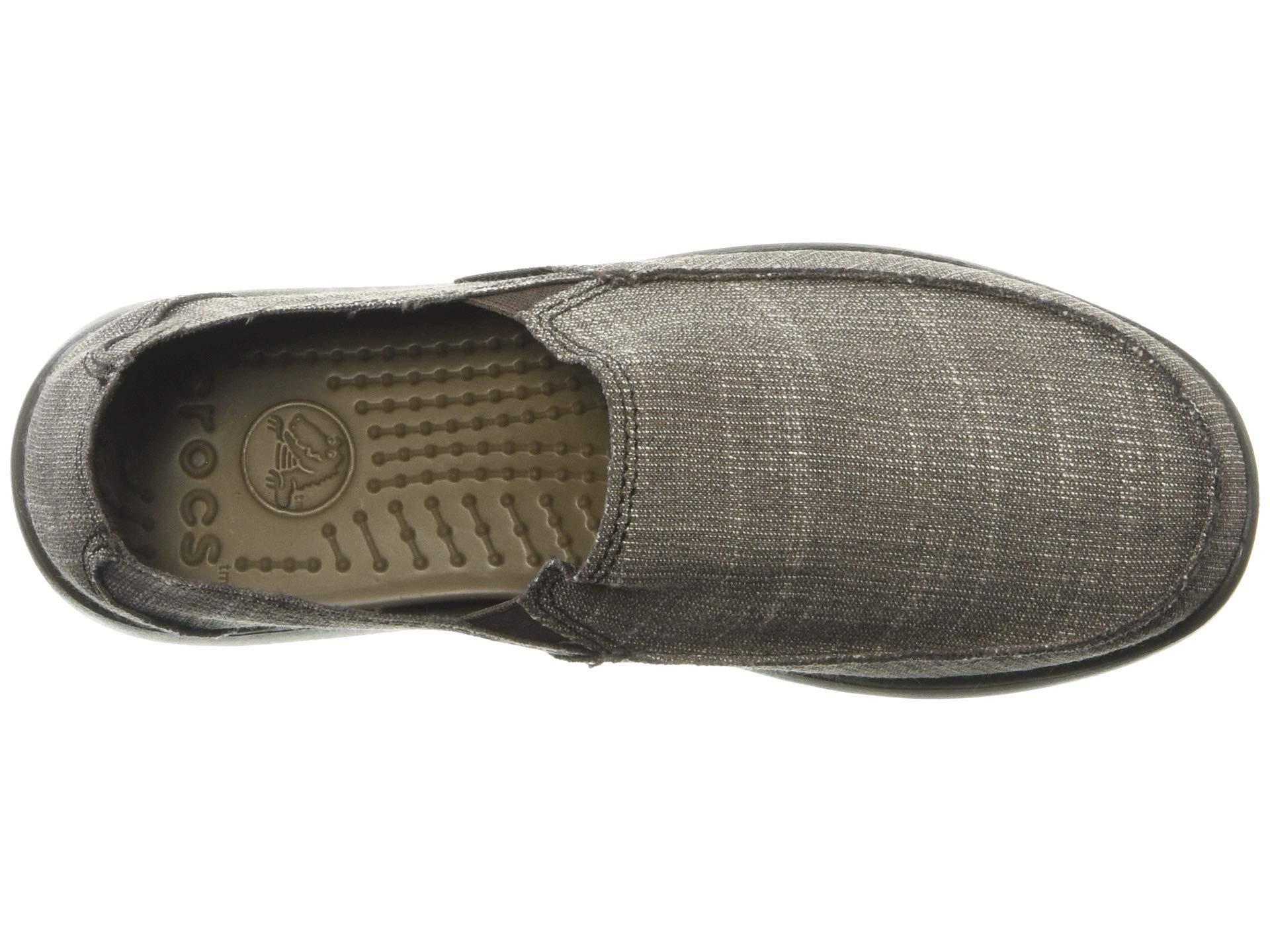 766898505 Crocs™ - Brown Santa Cruz Sl (black black) Men s Slip On Shoes. View  fullscreen