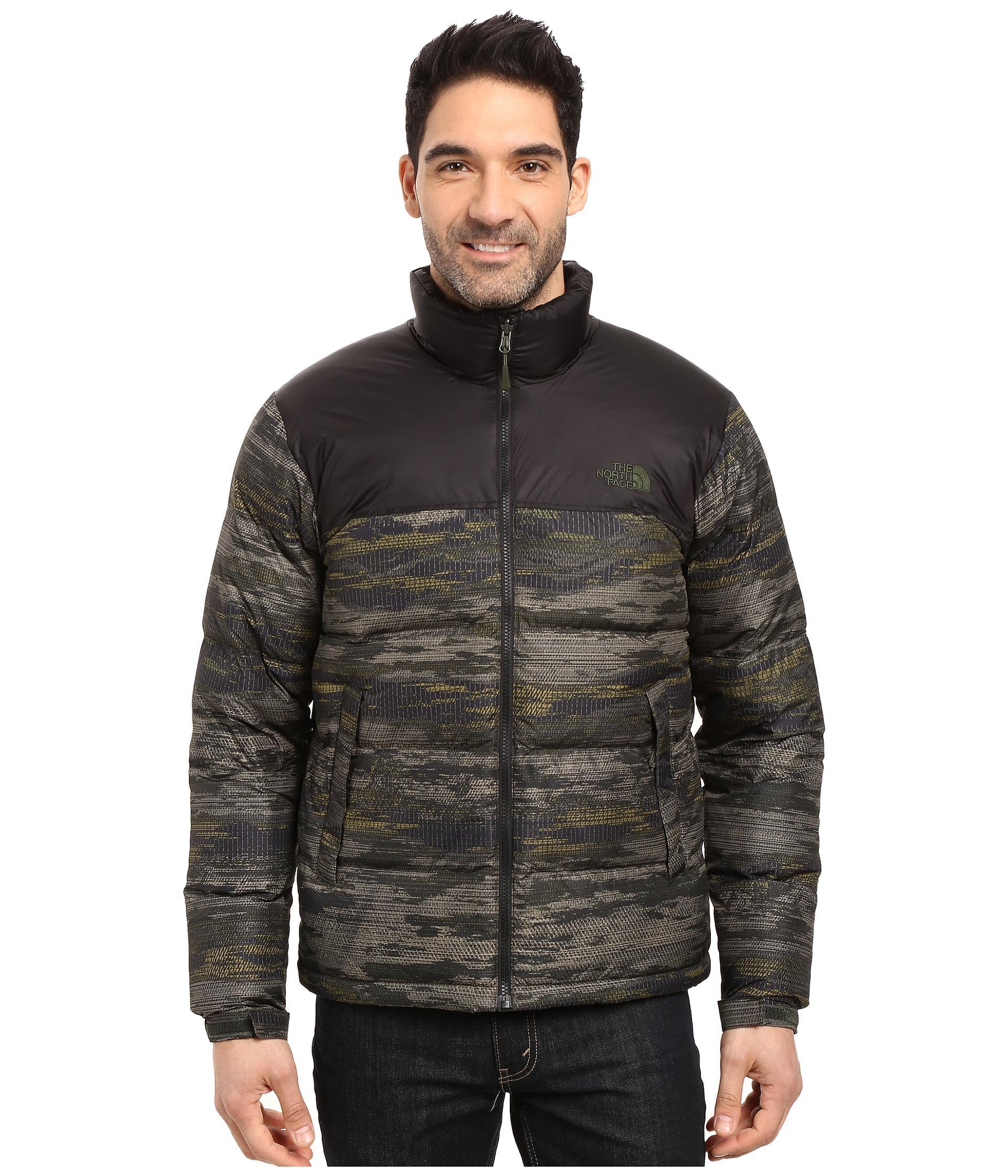 9fc881f3de1 Nuptse Jacket for Men Lyst. View Fullscreen . tnfaw16jacket2 tnfaw16jacket1  tnfaw16jacket23 tnfaw16jacket25 tnfaw16jacket24 Nuptse 2 Jacket Black Ink  Green ...