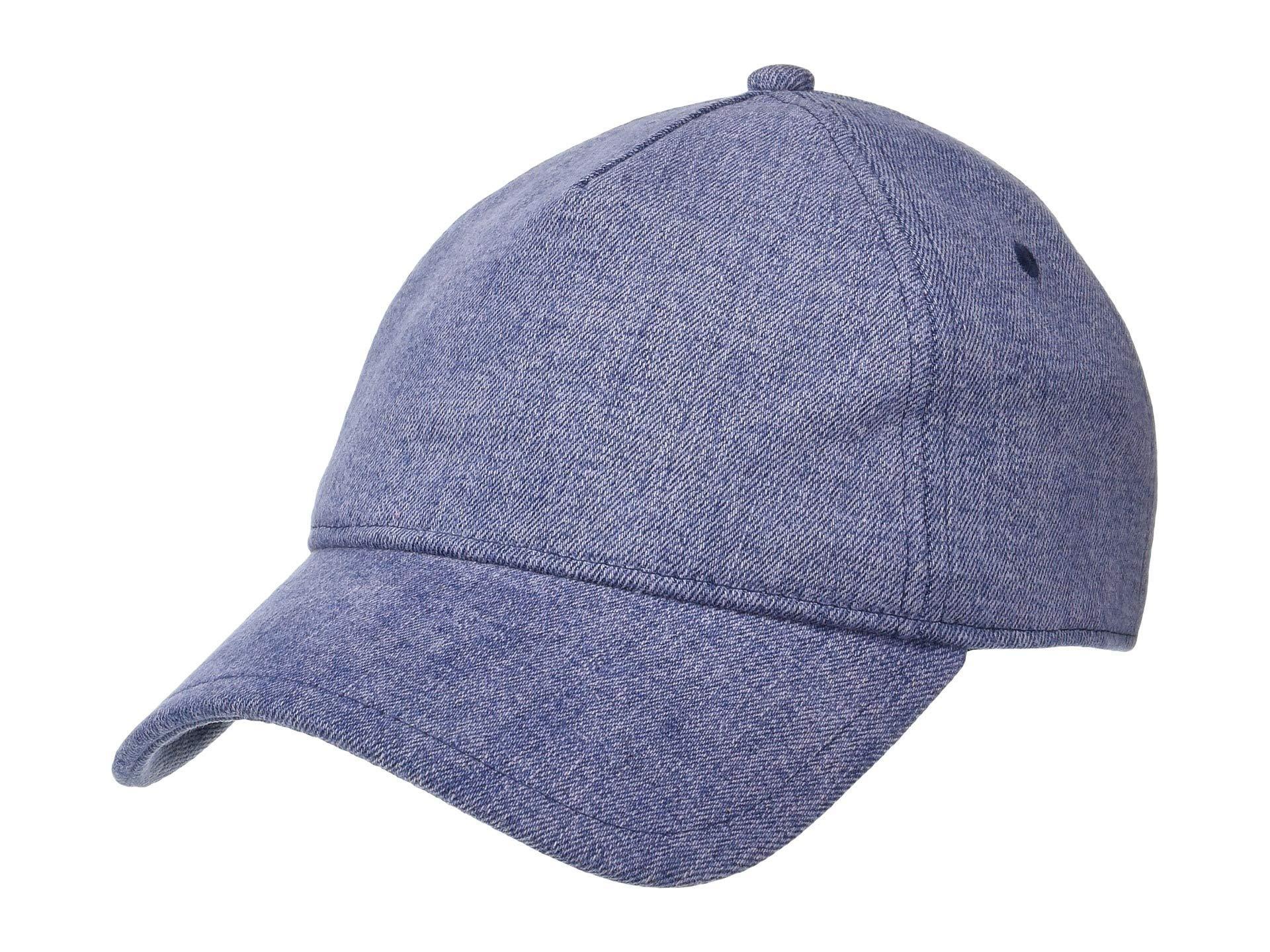 Lyst - Rag   Bone Marilyn Baseball Cap (grey Suede) Baseball Caps in ... f809bf70cd15