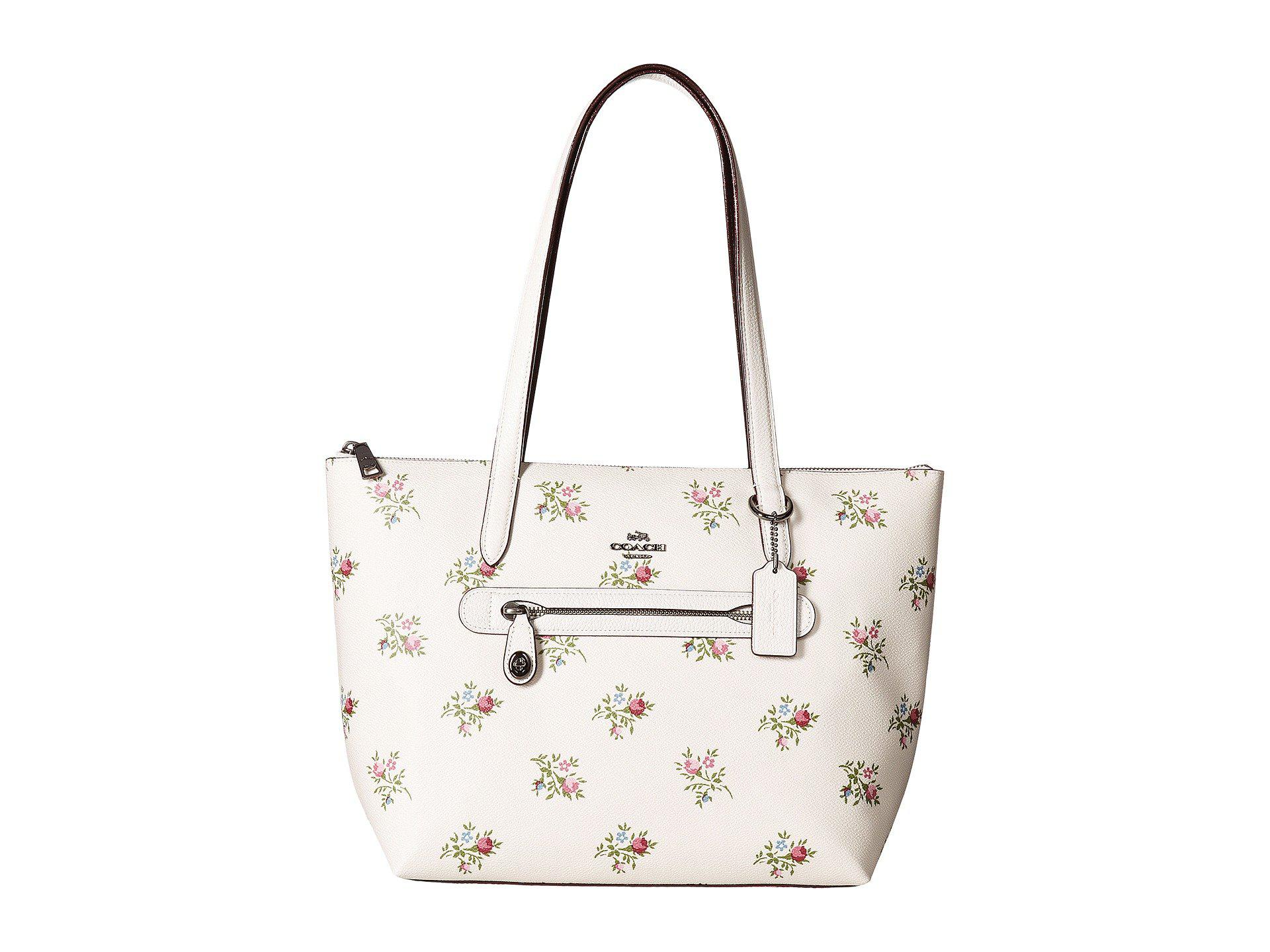 f5219dd5920 ... coupon for lyst coach taylor tote in floral printed leather b69ad 54d38  ...