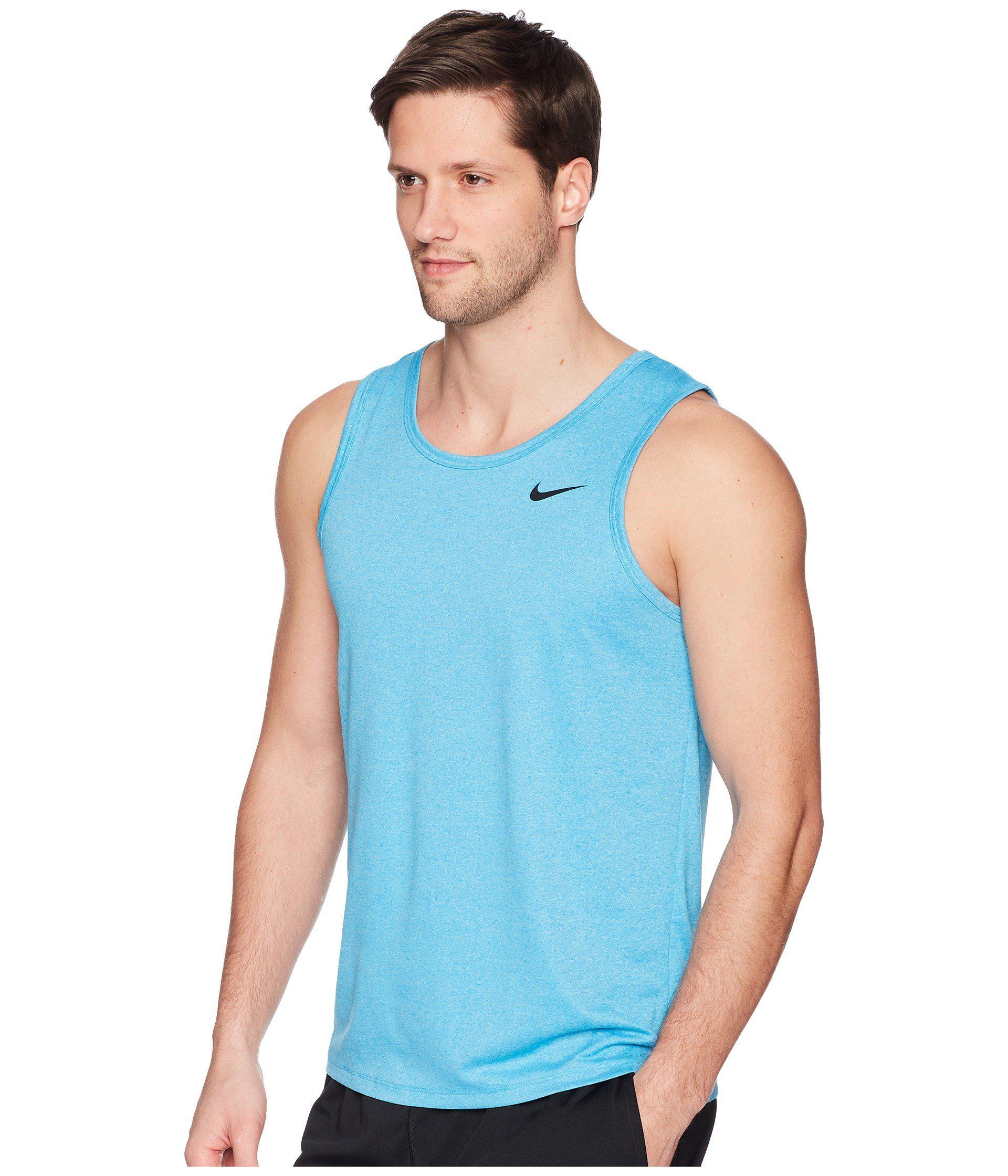d056ece66743b Lyst - Nike Legend Tank Top (white black) Men s Sleeveless in Blue ...