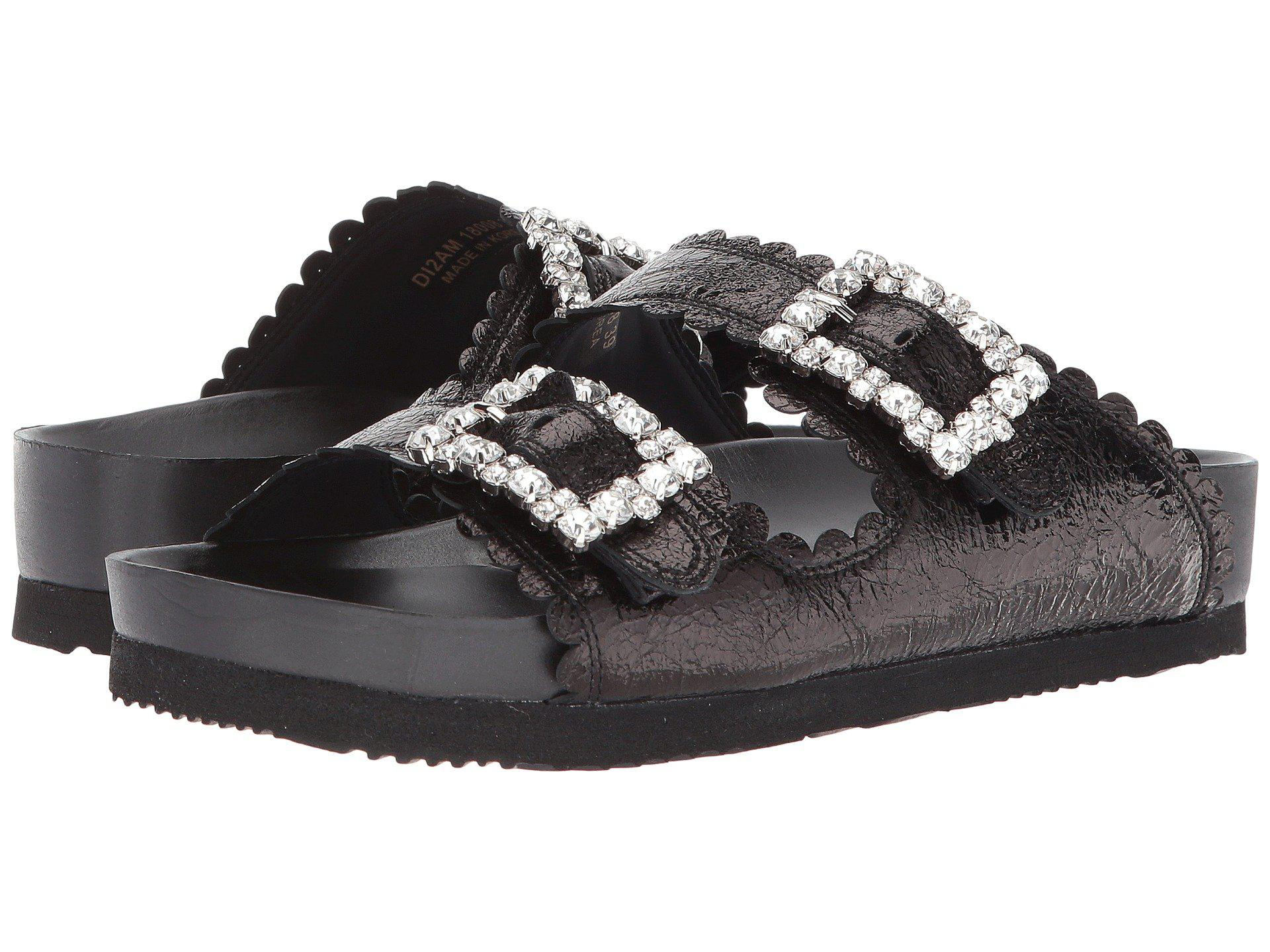 SUECOMMA BONNIE Jewel buckle sandals FSk5pn0b