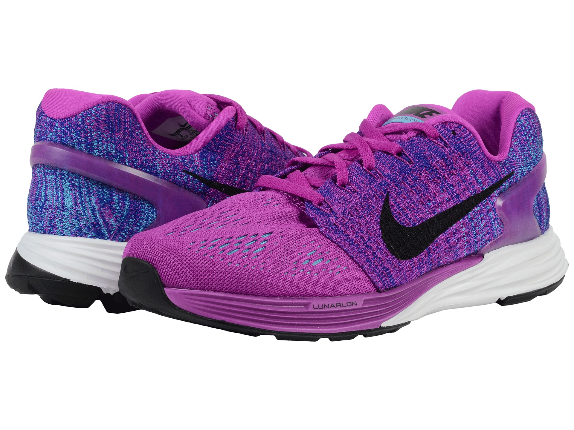 low priced a975c 0a451 ... clearance lyst nike lunarglide 7 in pink 23358 778b2