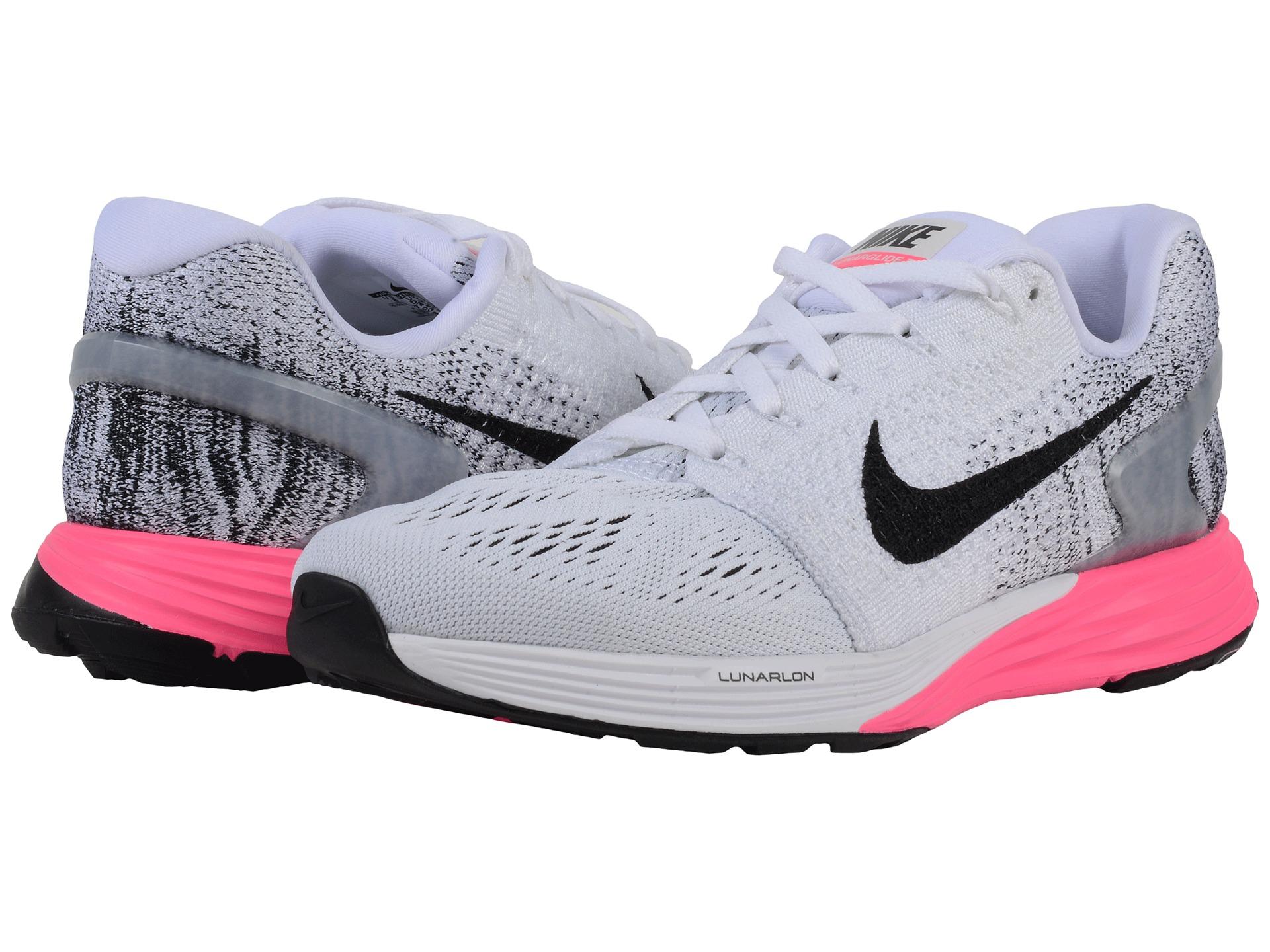 4b9987609e2c Lyst - Nike Lunarglide 7 in White