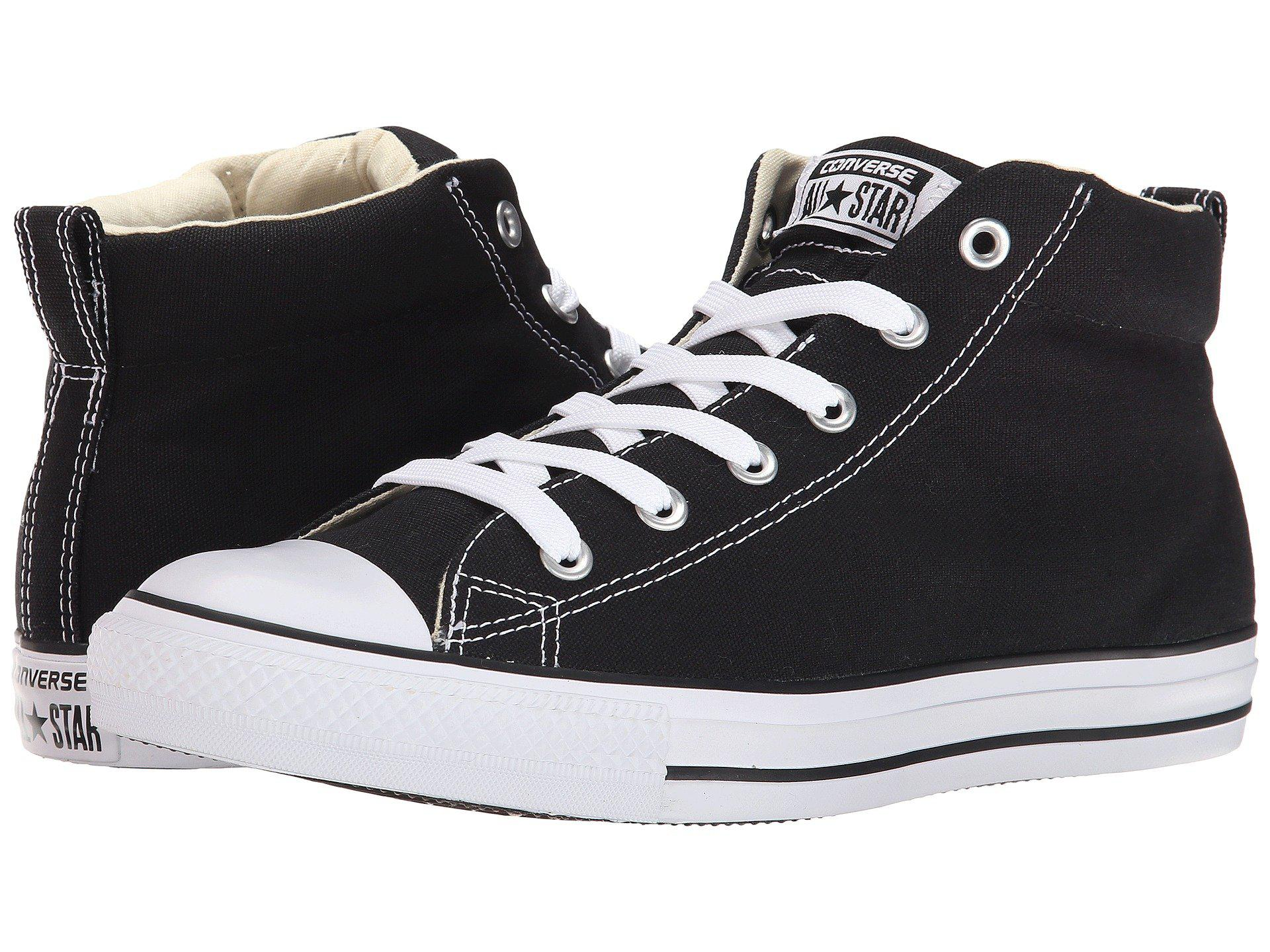 The Most Popular Converse Chuck Taylor All Star Street Core Canvas Mid For Women Sale