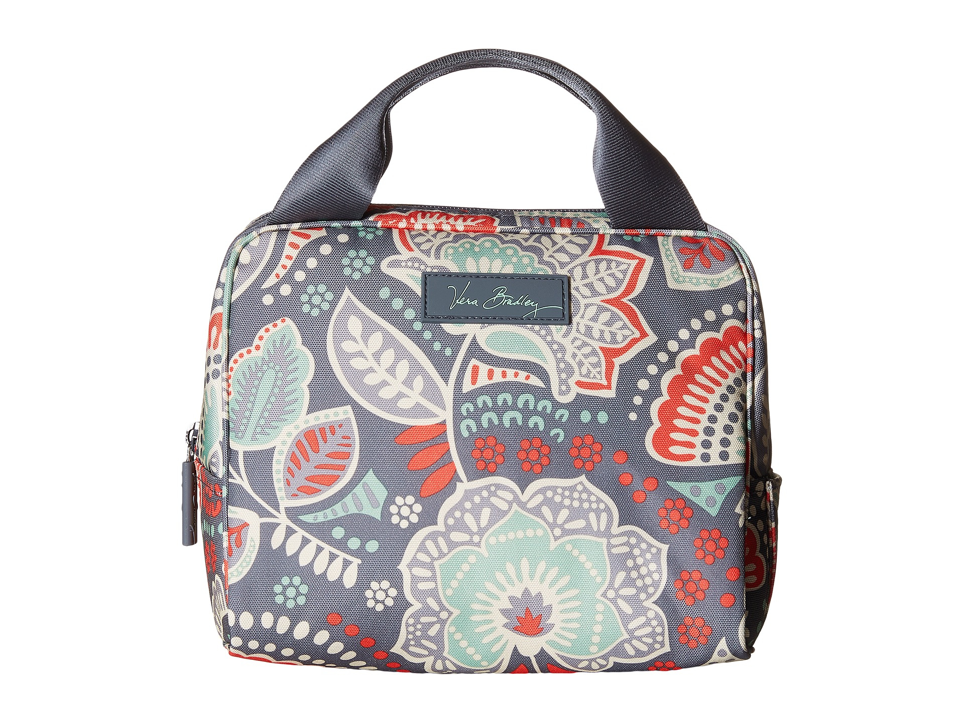 Vera Bradley Lighten Up Lunch Cooler (Water Geo) Handbags aN2f2z2GJX