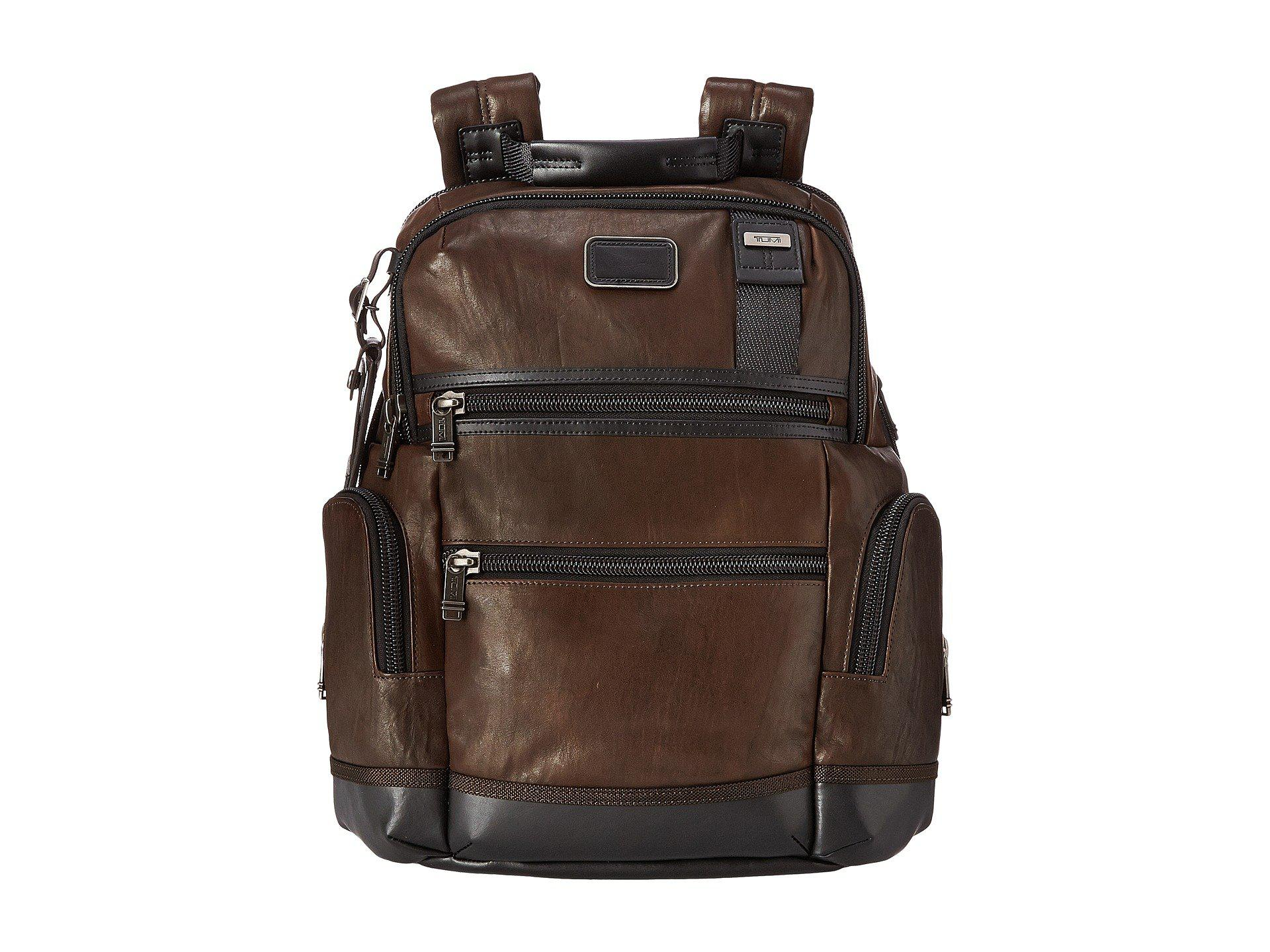 65f537315b Knox Leather Backpack Dark Brown- Fenix Toulouse Handball