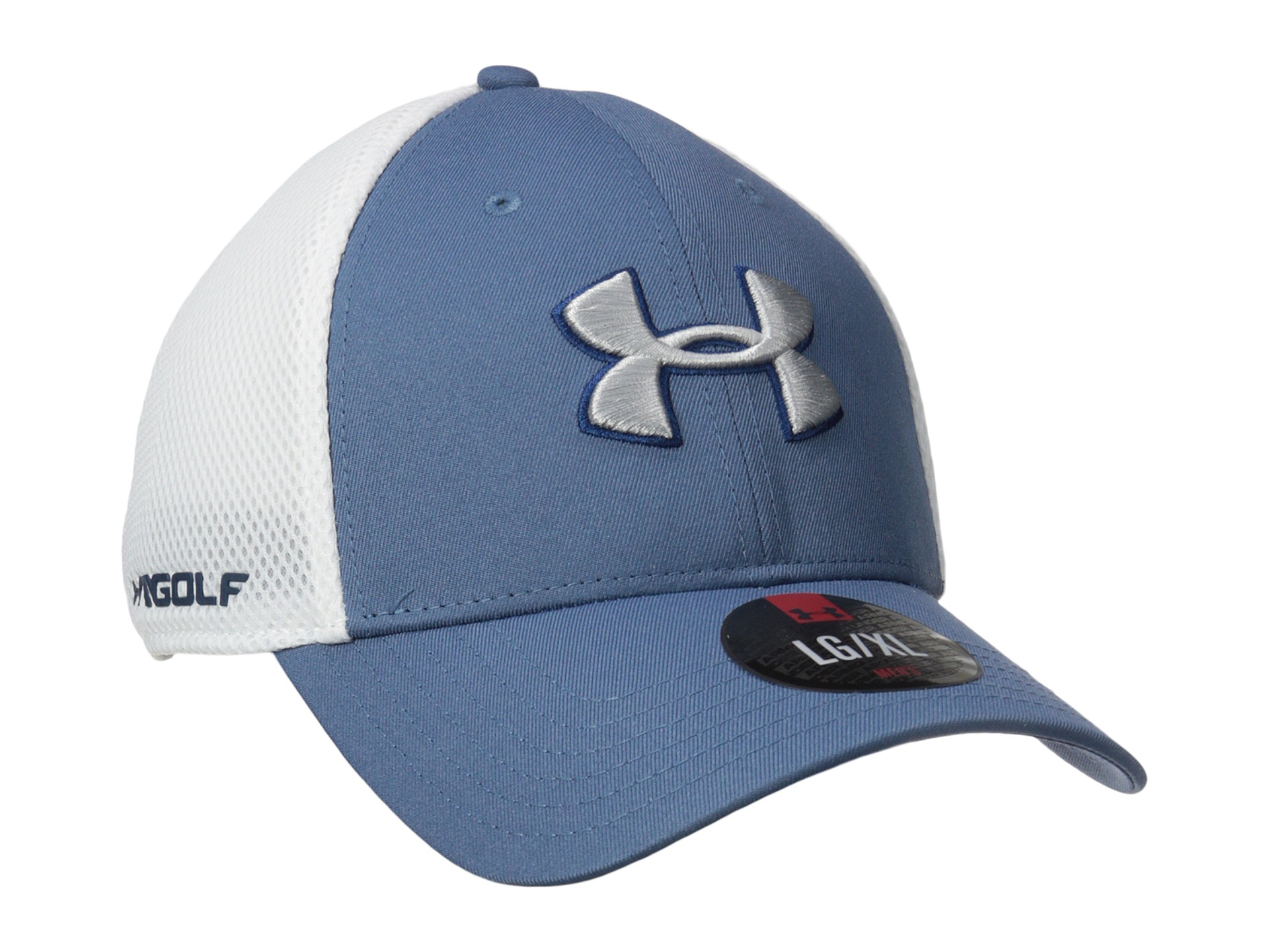 Lyst - Under Armour Ua Golf Mesh Stretch 2.0 Cap in White for Men 172fb0c6cd3