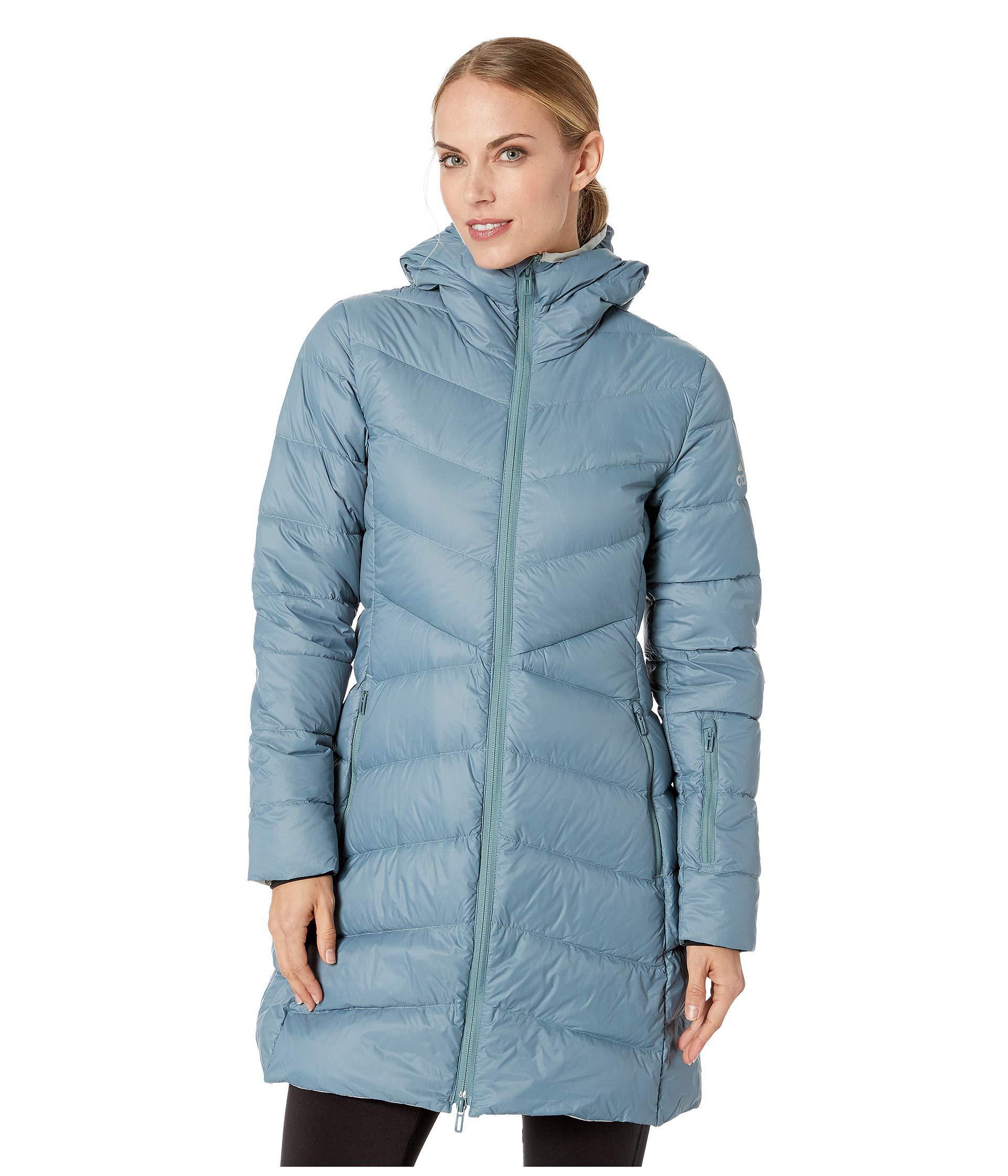 adidas Originals. Blue Climawarm(r) Hyperdry Nuvic Jacket (raw Green) Women s  Coat aec1c2a6f6