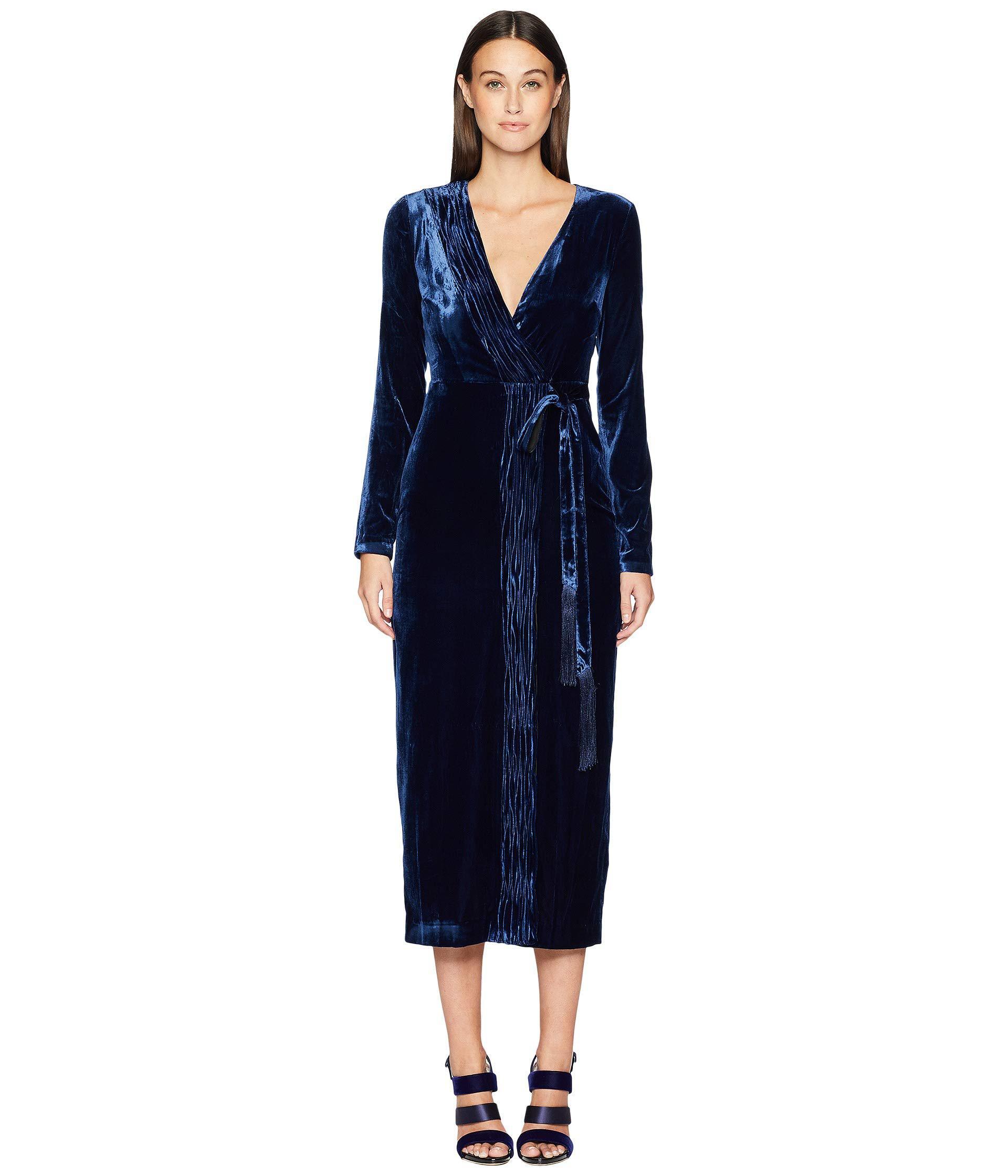 903b9323c5f Rachel Zoe Aly Dress (navy Sapphire) Women s Dress in Blue - Save 55 ...