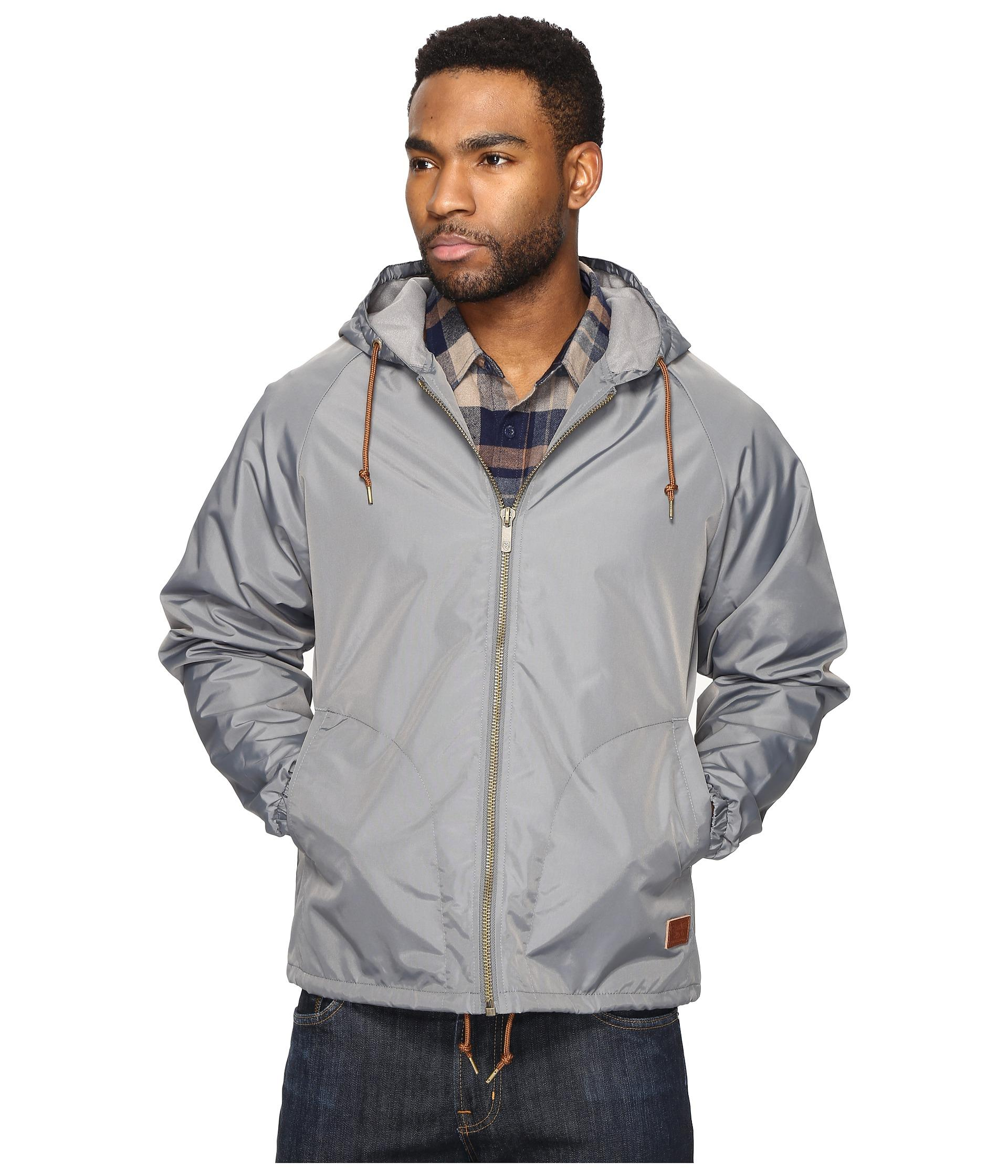 claxton men Brace the elements this fall season without compromising your clean cut style with brixton's claxton off-white hooded windbreaker jacket simple in aesthetic, the piece of outerwear has an adjustable drawstring hood/bottom hem, two front slash pockets, an.