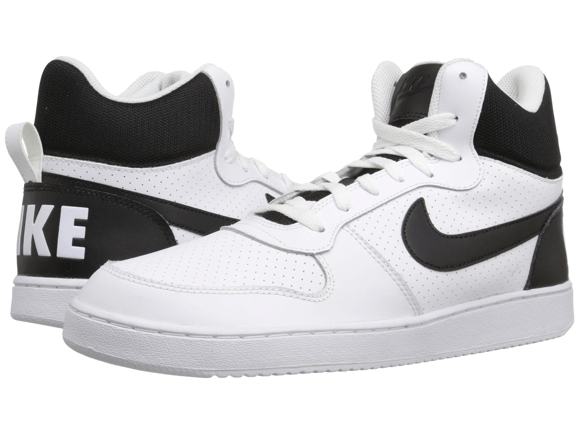 Nike Recreation Mid Mens White/Black U871165SJ Shoes