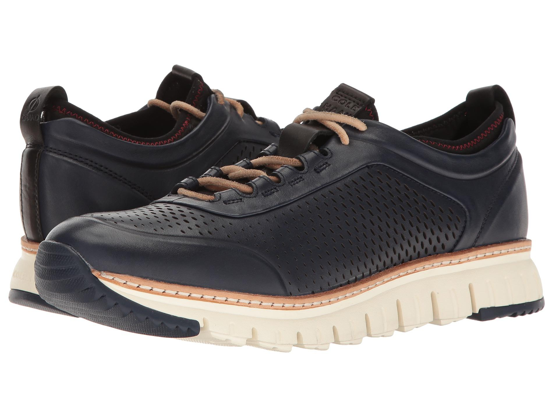 Lyst Cole Haan Zerogrand Perforated Sneakers