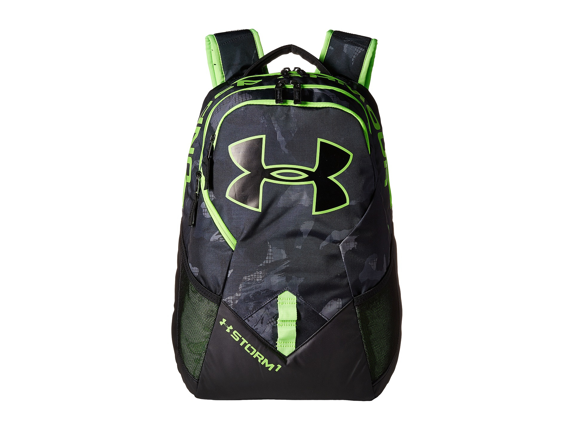 Lyst - Under Armour Ua Big Logo Iv Backpack in Green for Men a9dc7c0b3584e
