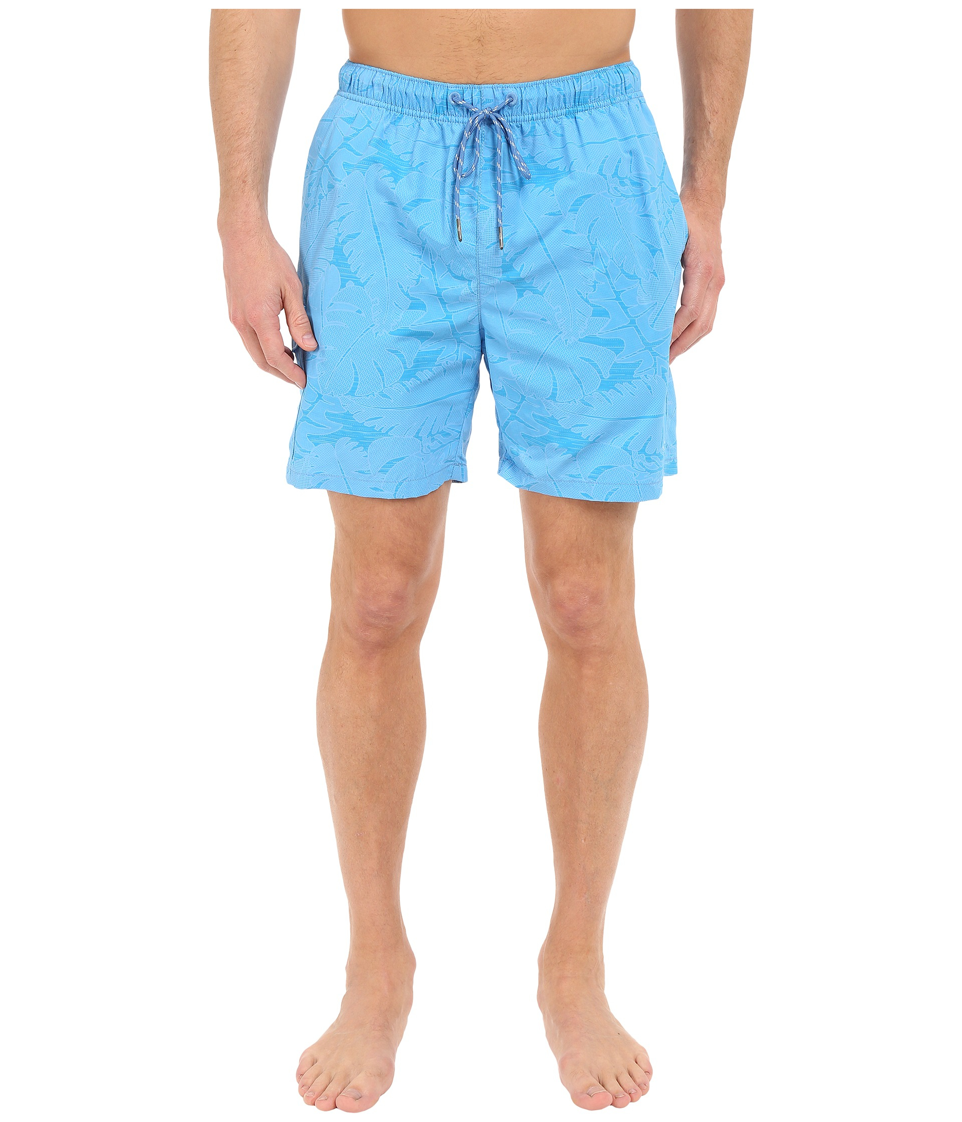 937afe4e4d Lyst - Tommy Bahama Naples Captain Jacquard 6-inch Swim Trunks in ...