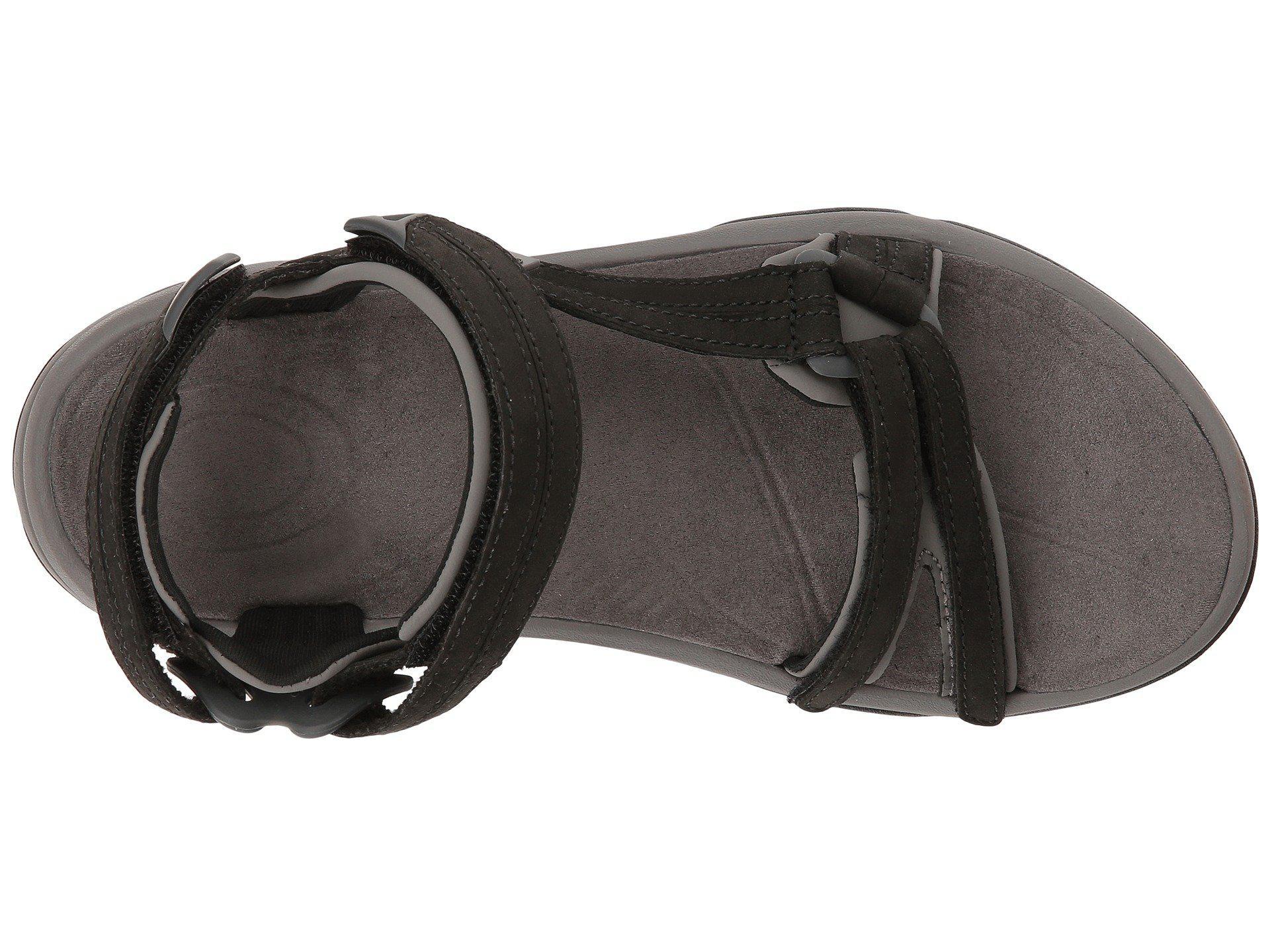 8b0b2da8e Teva - Terra Fi Lite Leather (black) Women s Shoes - Lyst. View fullscreen