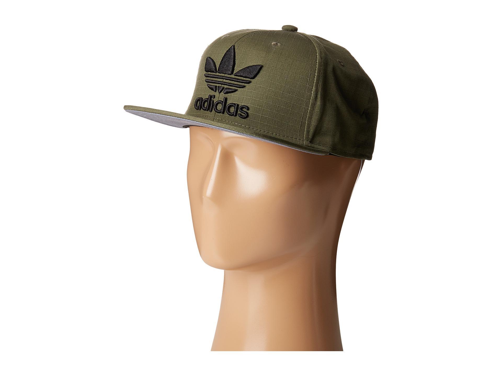 Lyst - adidas Originals Original Trefoil Plus Chain Snapback Cap in ... 7781dc31751