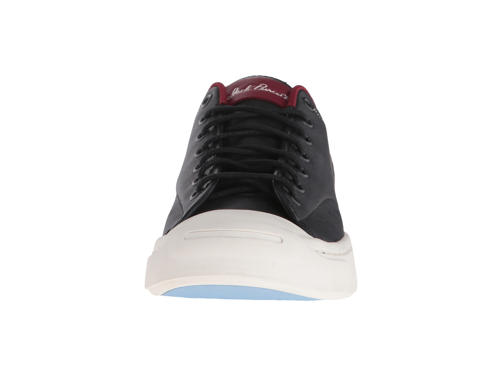 Lyst - Converse Jack Purcell® M-series Tumbled Leather Ox in Red for Men 538f0a9db