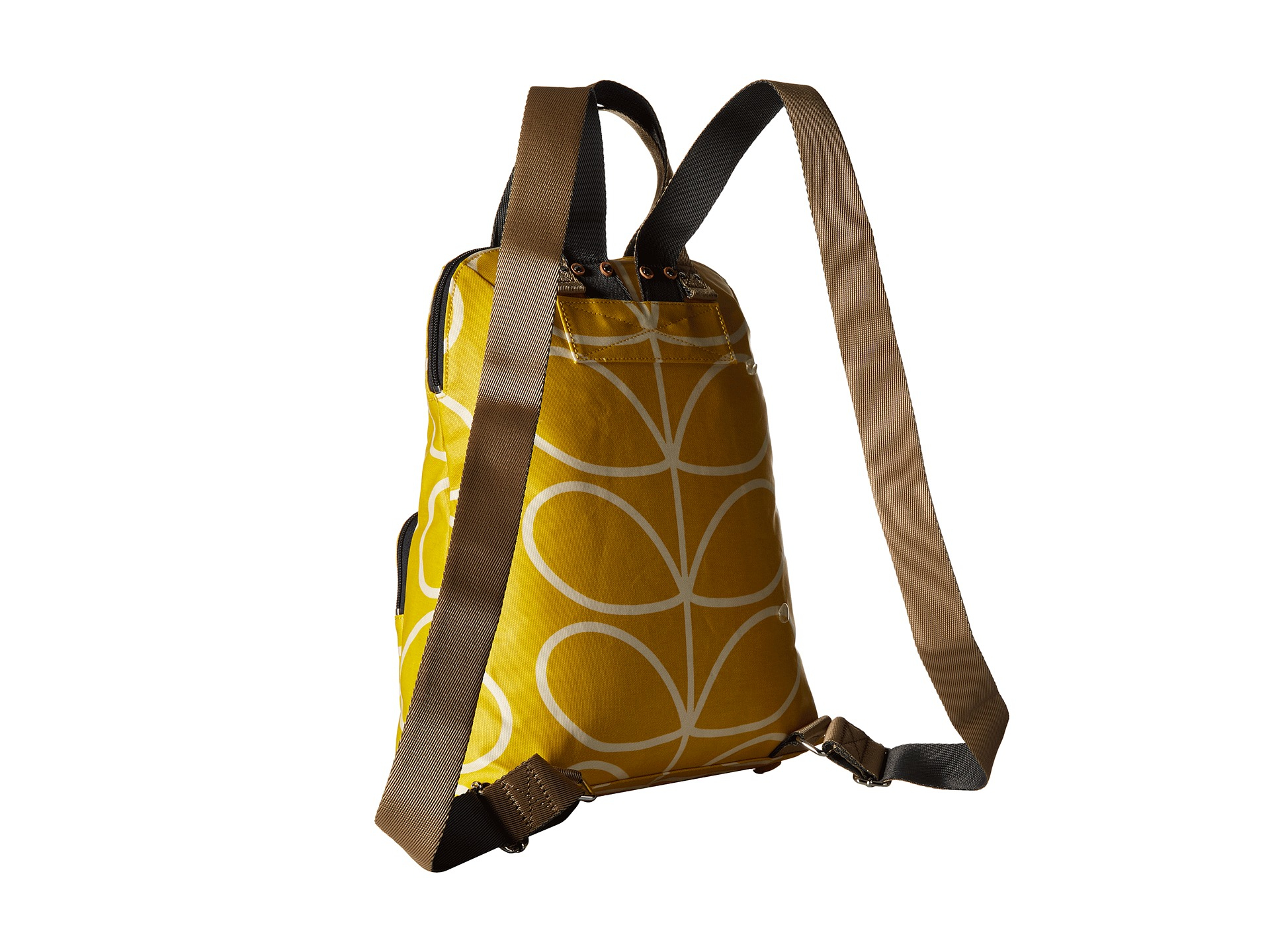 Lyst - Orla Kiely Giant Linear Stem Backpack Tote in Yellow bacc3c4107641