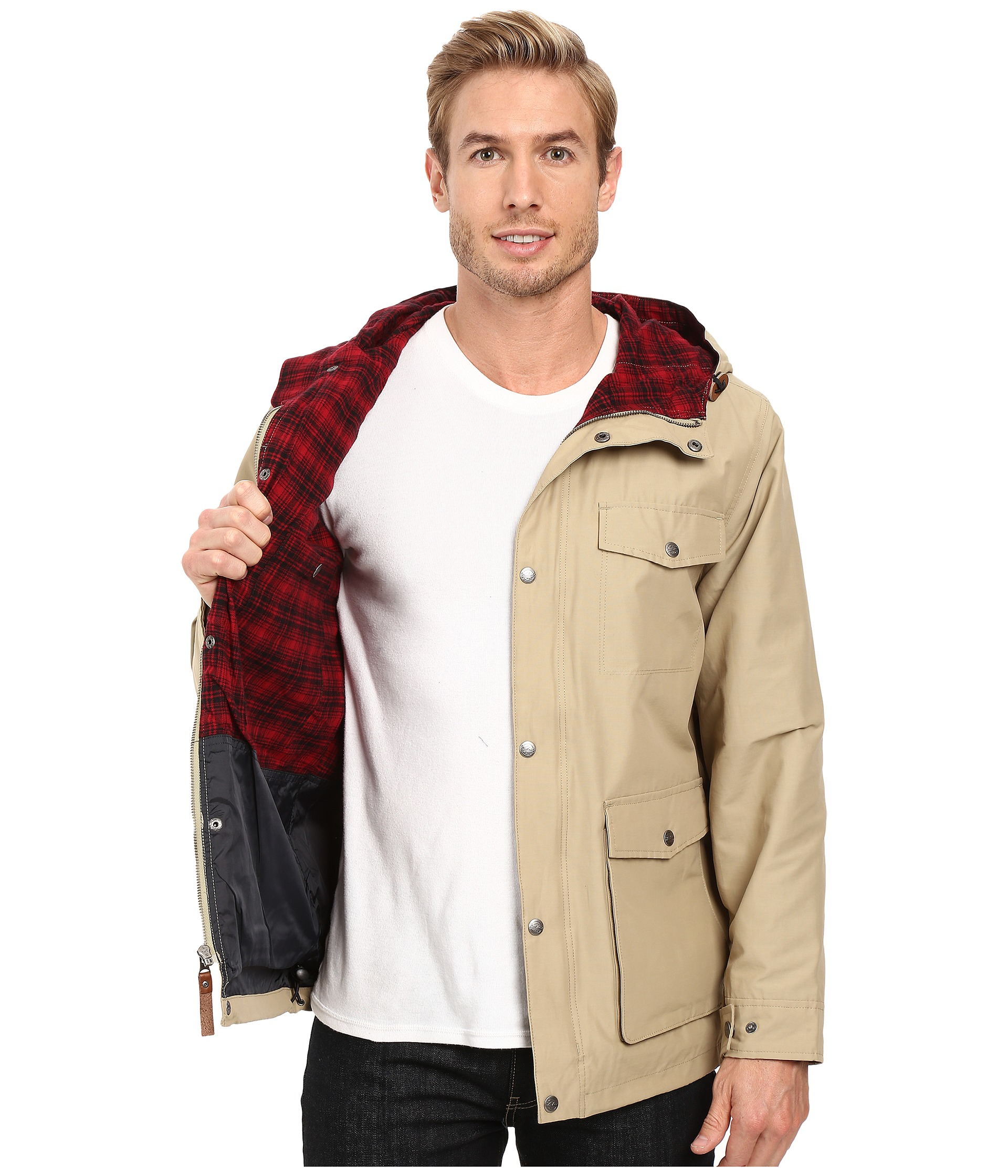 22bf708b16f Lyst - Woolrich Transition Lined Mountain Parka for Men