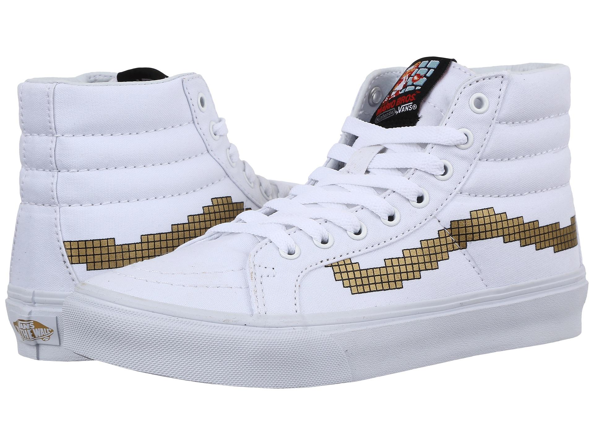 75b1d93345 Lyst - Vans Sk8-hi Slim X Nintendo® in White for Men