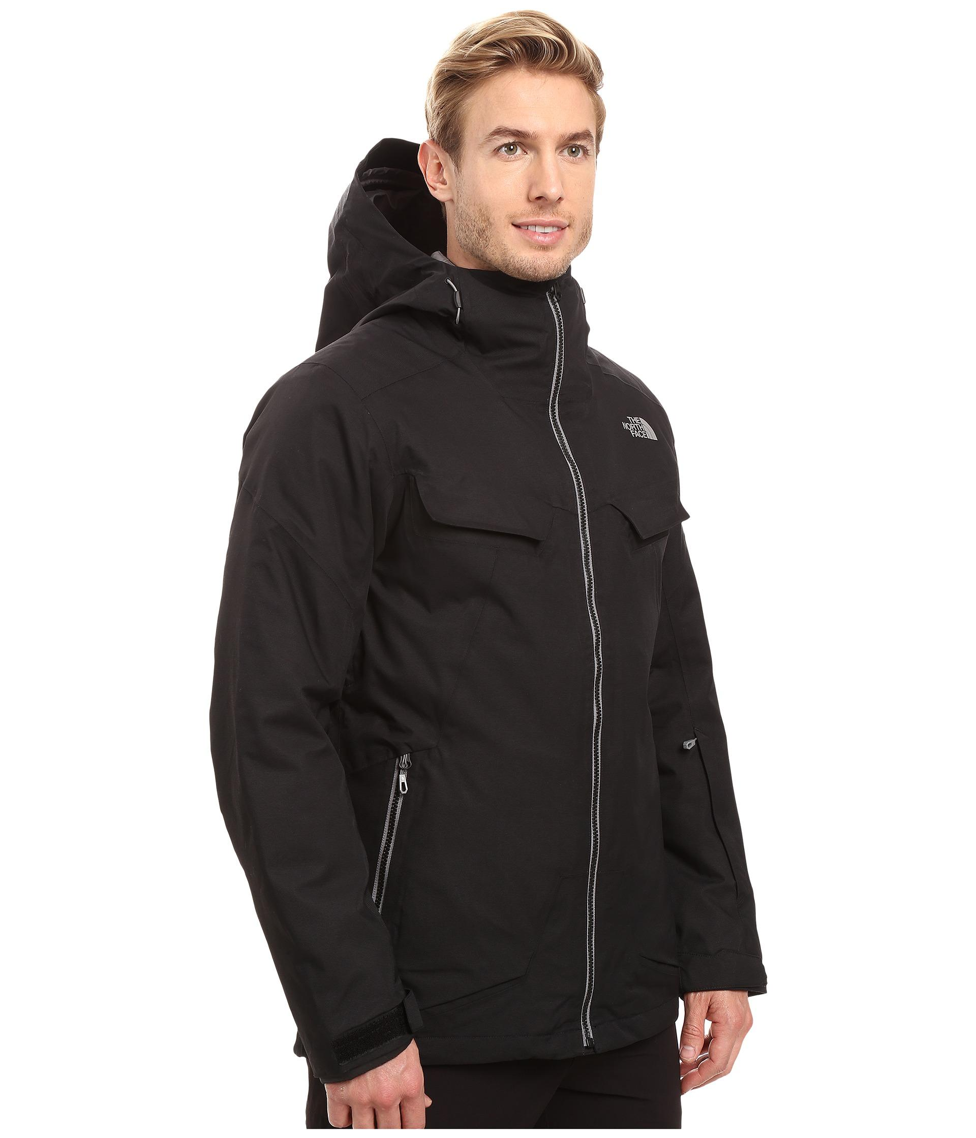 db504217488 The North Face - Black Initiator Thermoball Triclimate Jacket for Men - Lyst