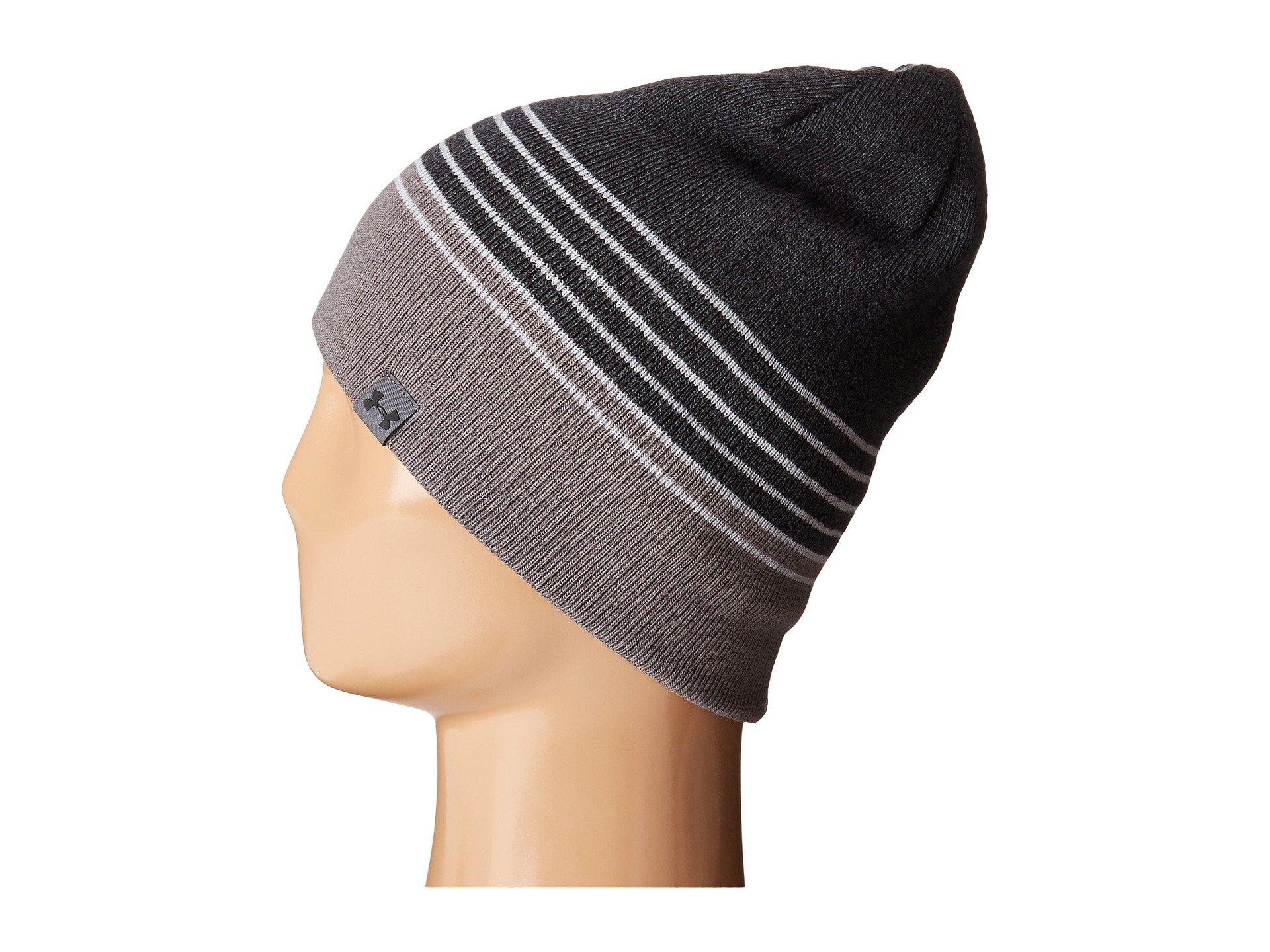 e7d1e0ef23f Lyst - Under Armour Ua 4-in-1 Beanie 2.0 in Gray for Men