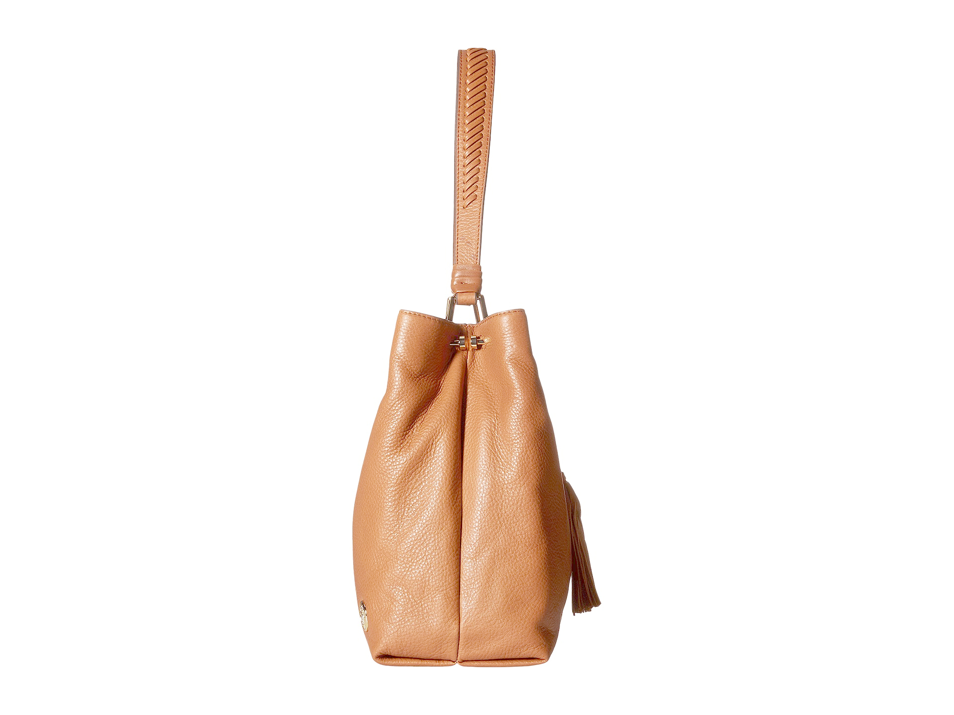 Lyst - Vince Camuto Taro Hobo in Brown 3da2bf0b00569