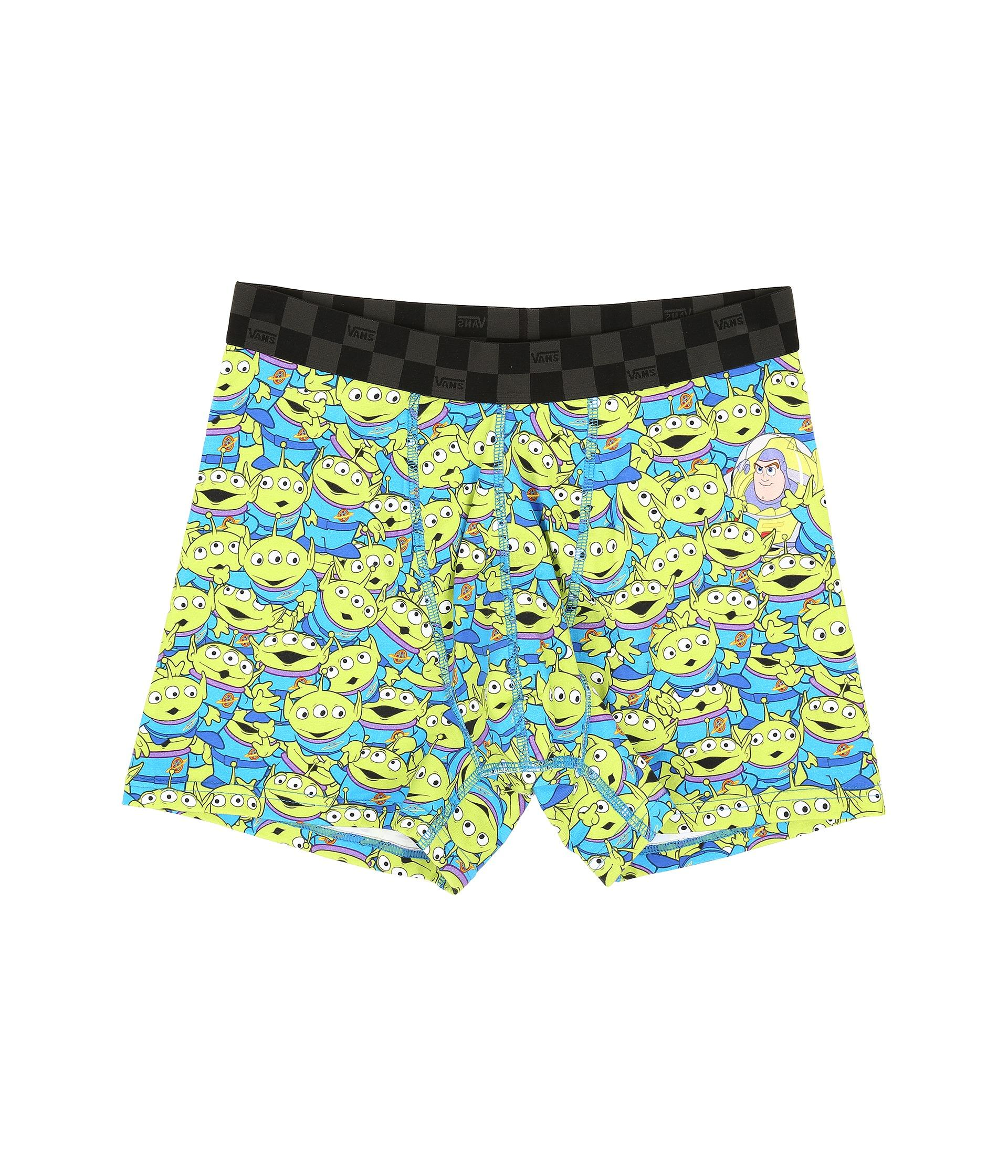 Lyst Vans Toy Story Knit Boxers In Green For Men