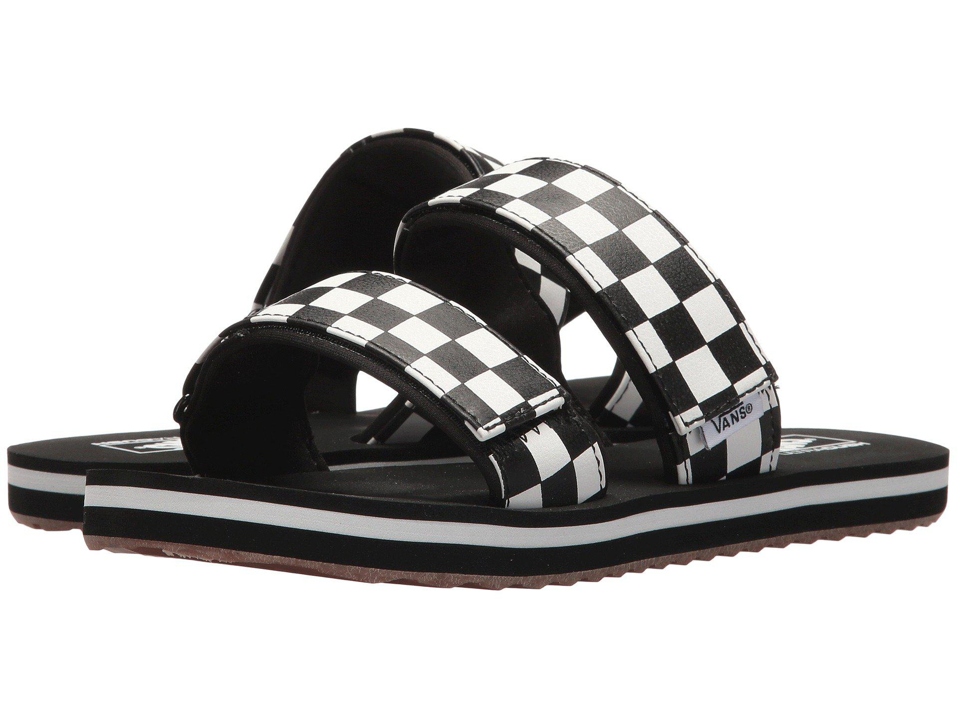 2f2c843aea Lyst - Vans Cayucas Slide in Black