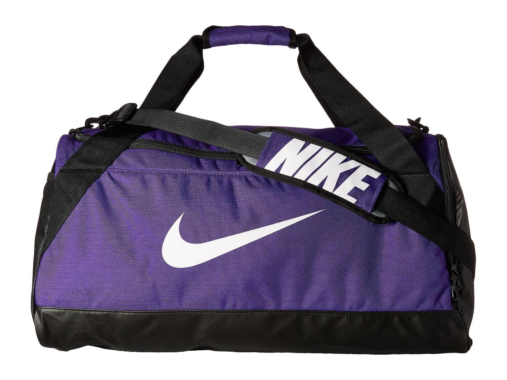 93ad8e50108a Lyst - Nike Brasilia Medium Duffel Bag in Purple for Men