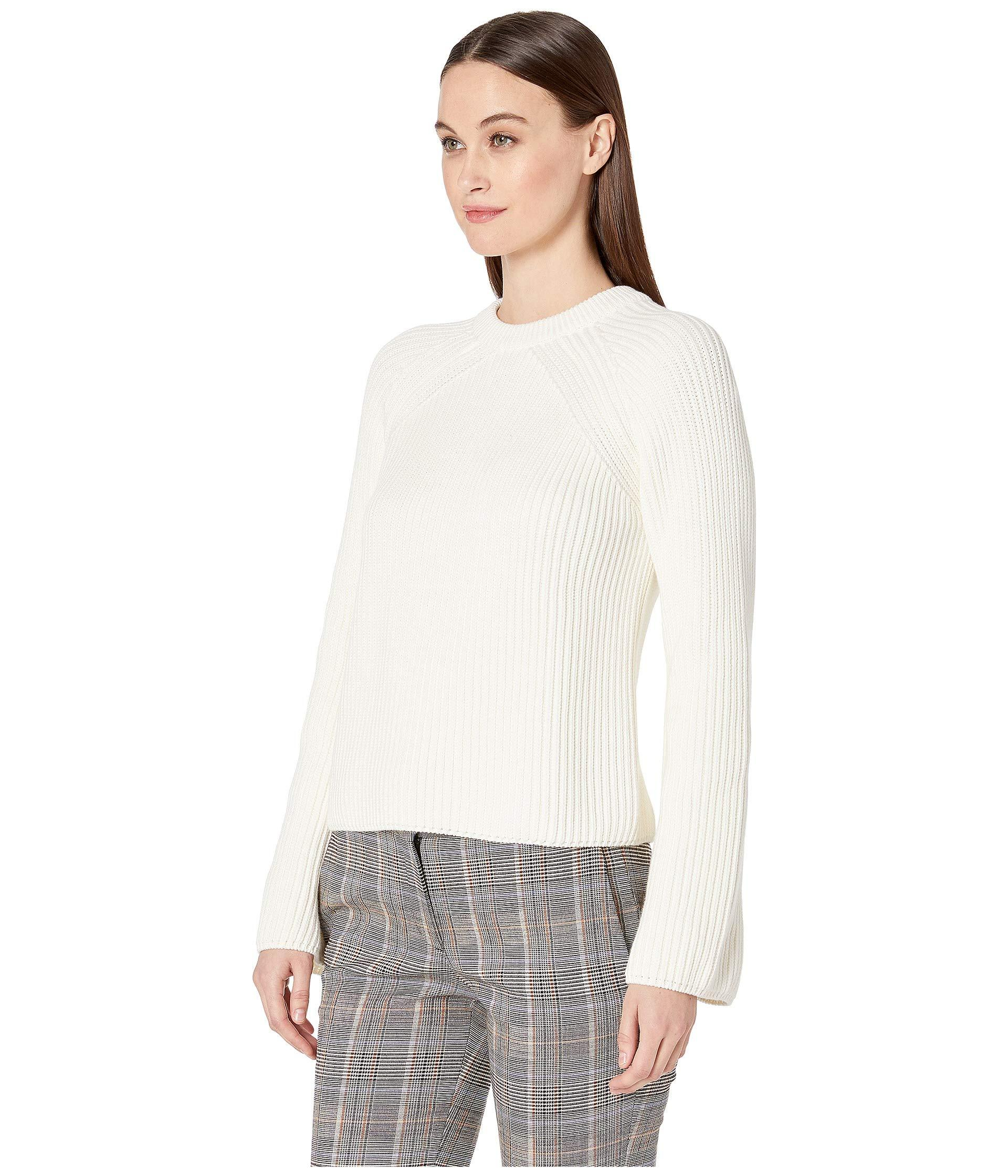 5a053218e4 Lyst - Mcq Alexander Mcqueen Lace-up Knits (ivory) Women s Clothing ...