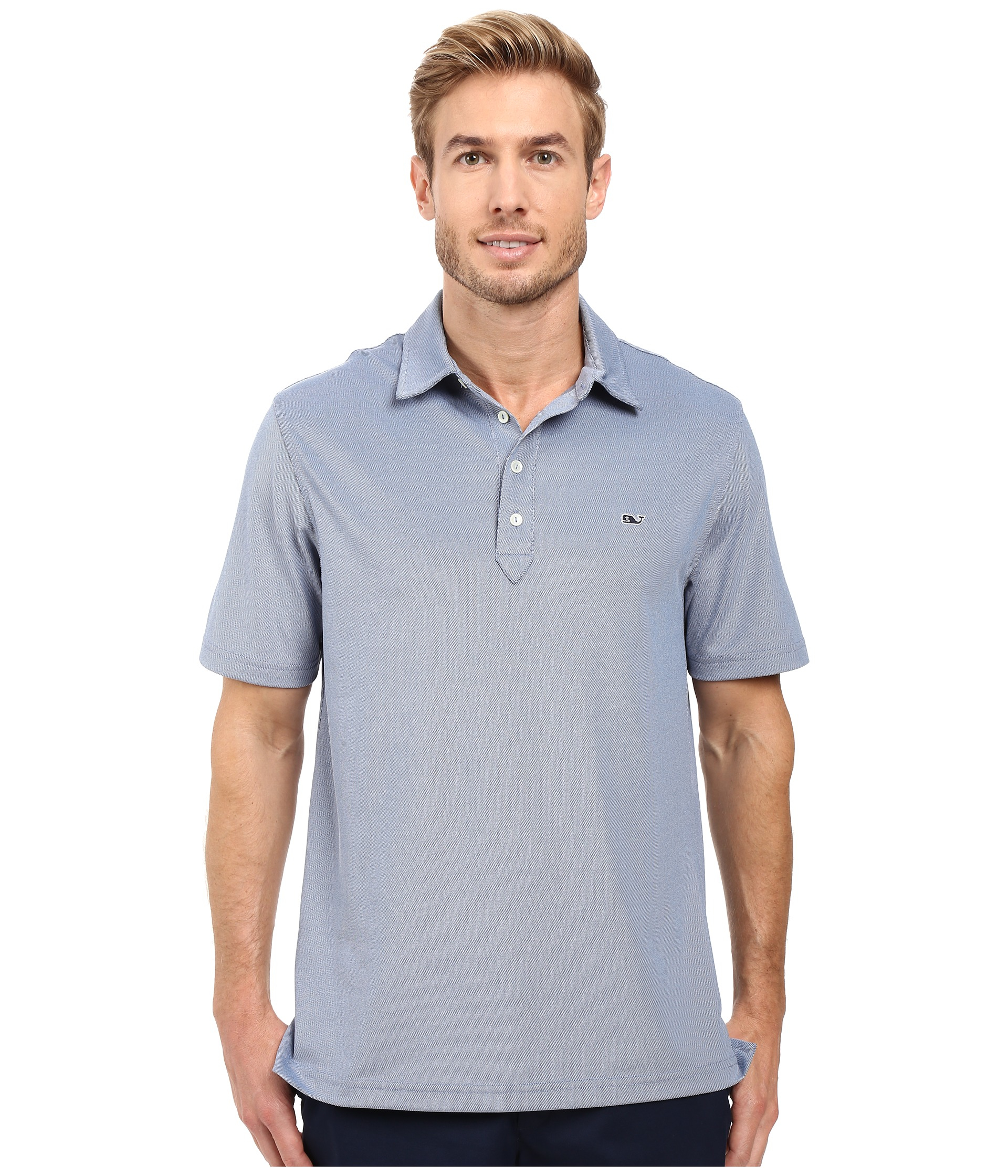 2df0f18544 Lyst - Vineyard Vines Marshall Solid Pique Performance Polo for Men