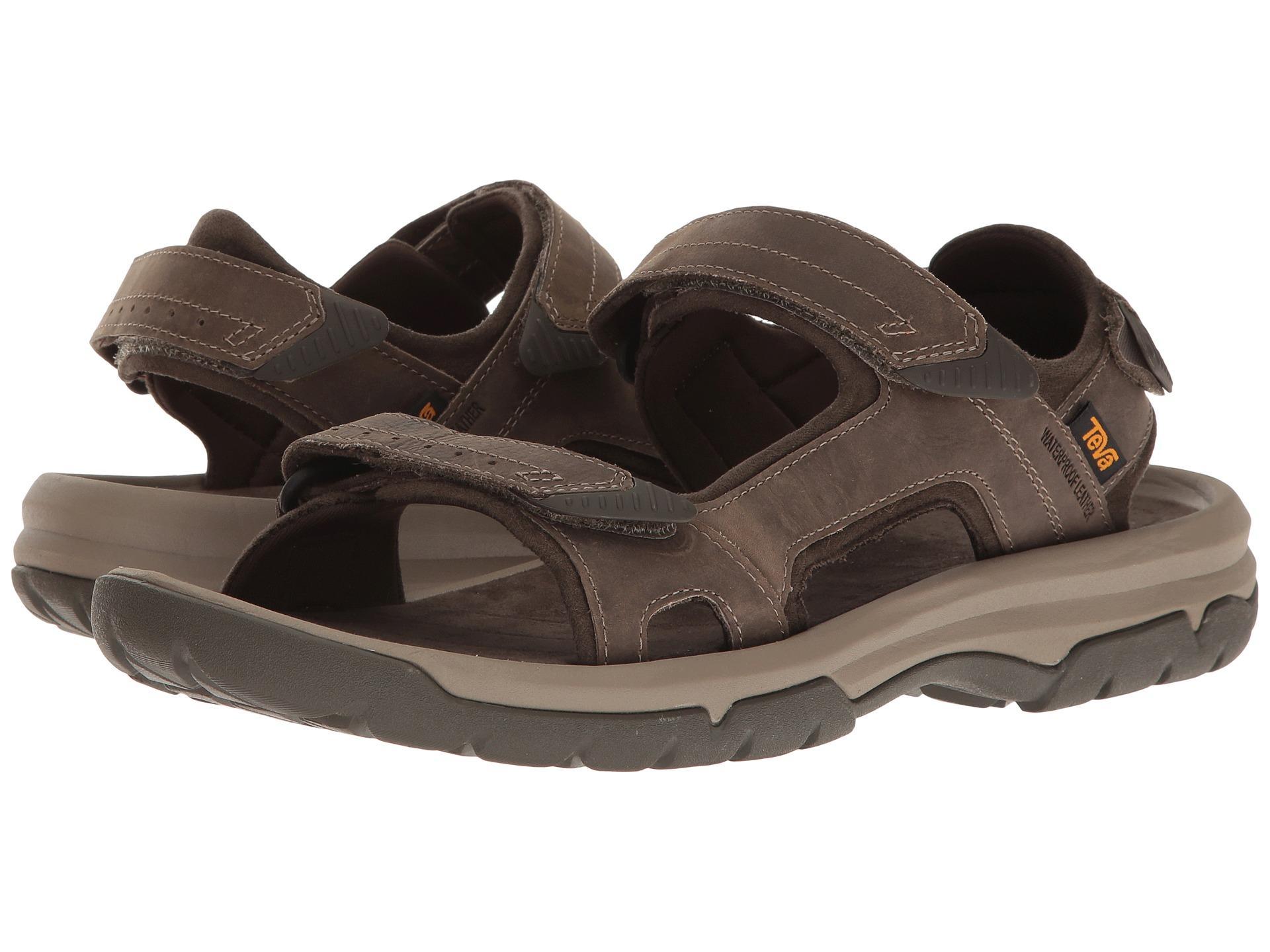 Teva Langdon Sandal In Brown For Men Lyst