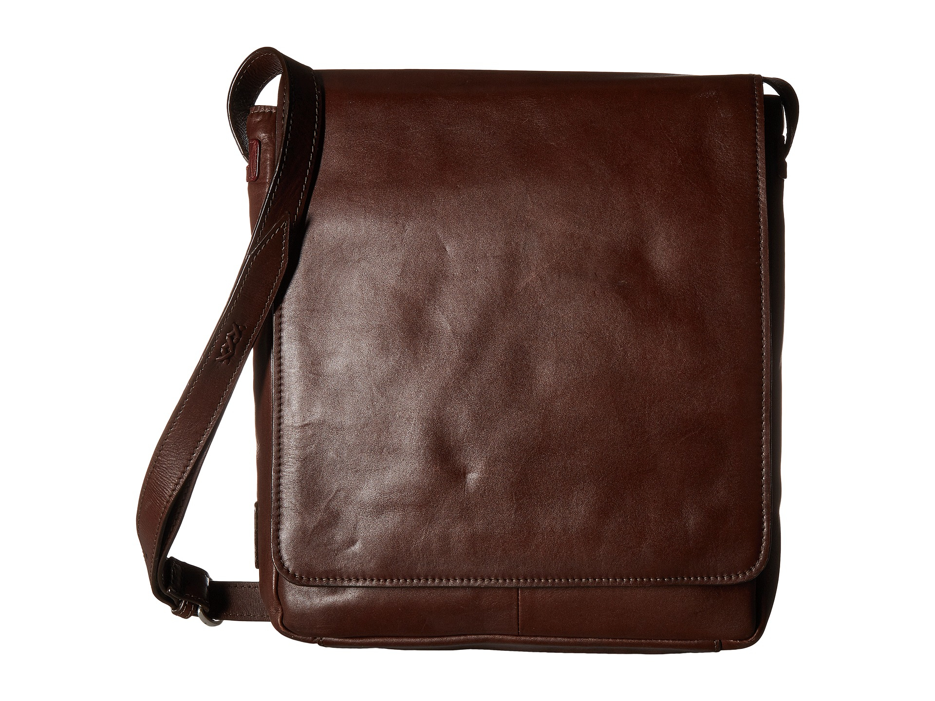Lyst Scully Hidesign Leather Upright Laptop Messenger