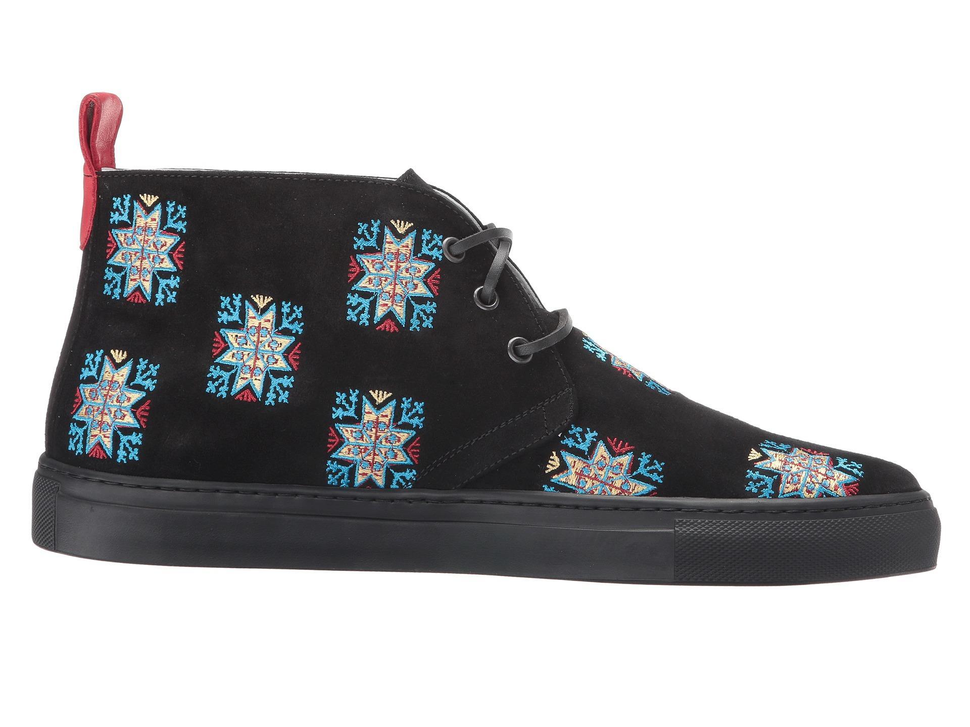 Del toro Blue Stars Embroidered Chukka Sneaker for Men