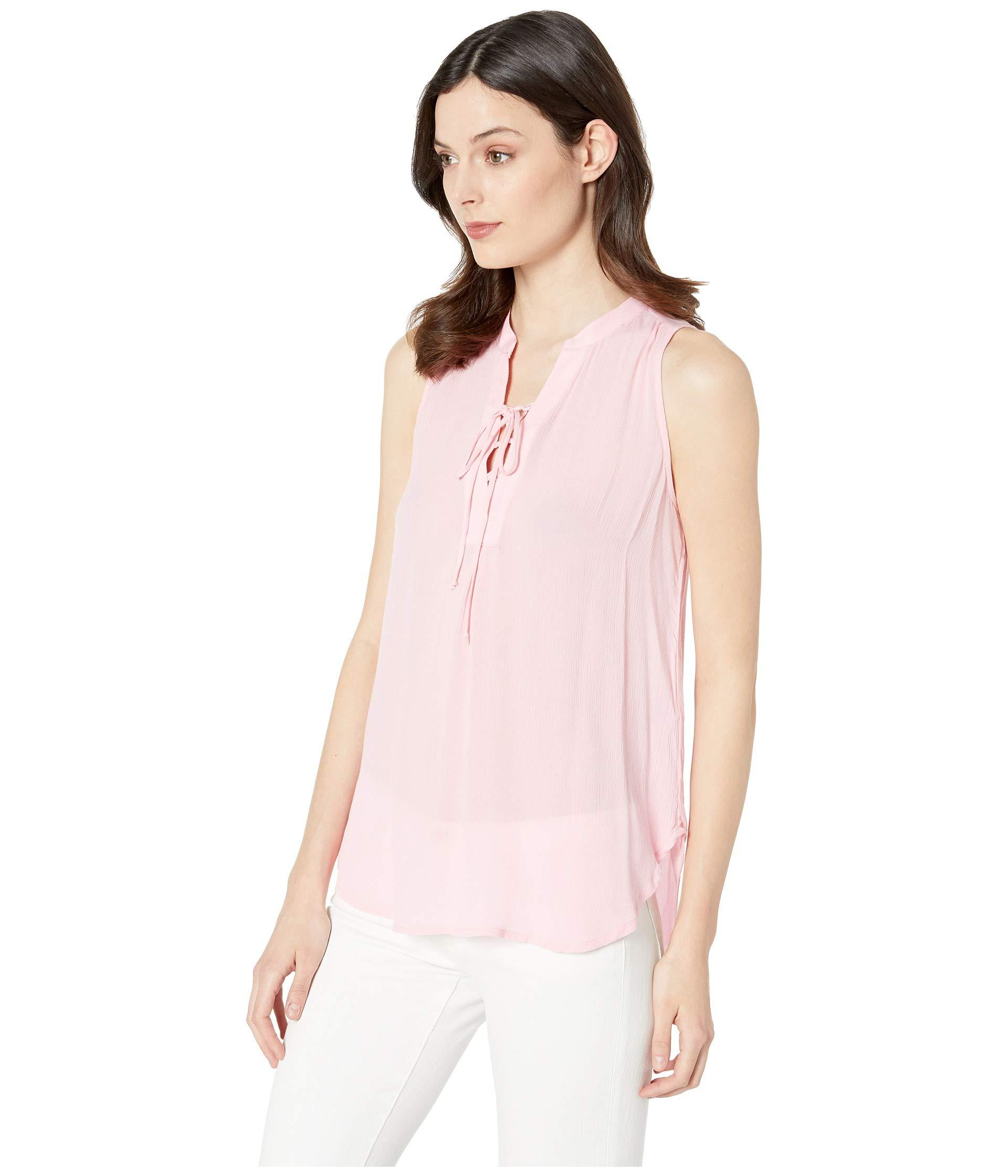 d84d6ecf8fae9 Lyst - Stetson 2912 Textured Rayon Crepe Tank Top (pink) Women s Sleeveless  in Pink