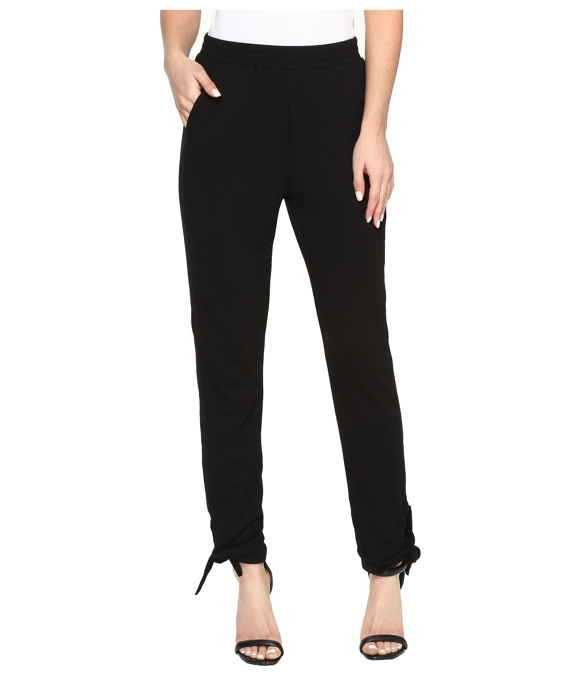 Wonderful PURO LINO Black TieFront Linen Ankle Pants  Women  Zulily