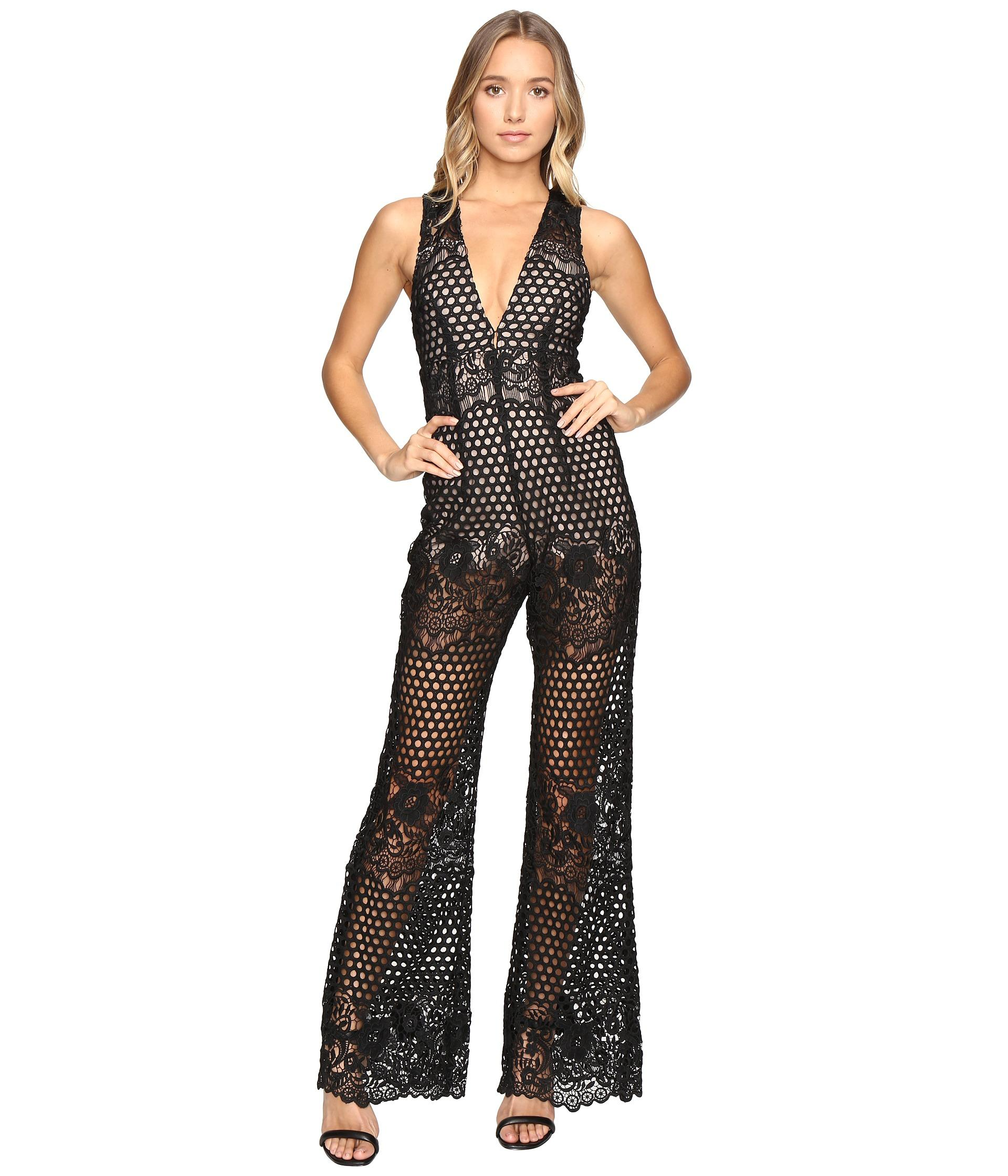 e7b96dd9aec1 Alice McCALL New Romantics Jumpsuit in Black - Lyst