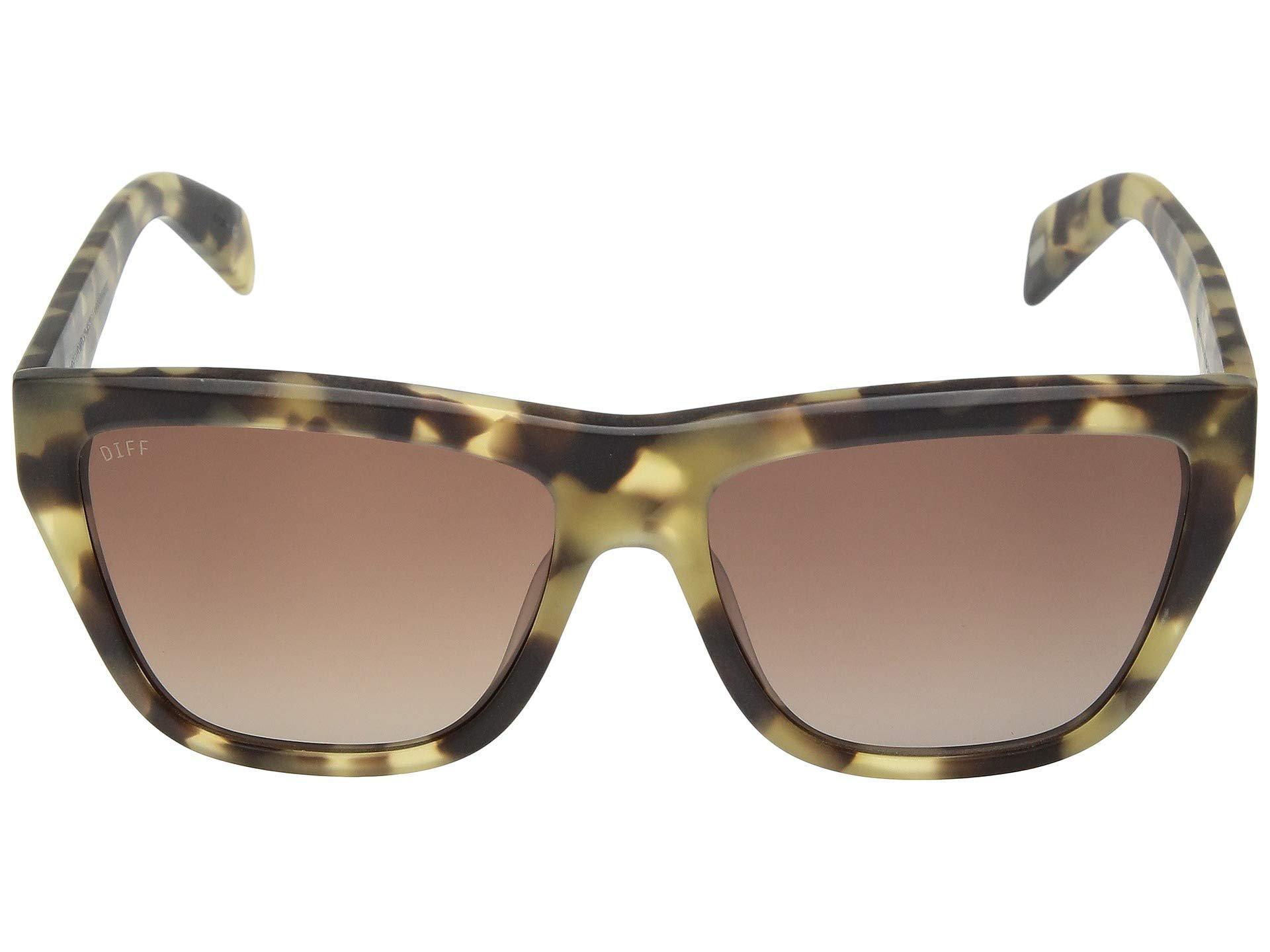 e900363dfe DIFF - Harper (moss Havana brown) Fashion Sunglasses - Lyst. View fullscreen