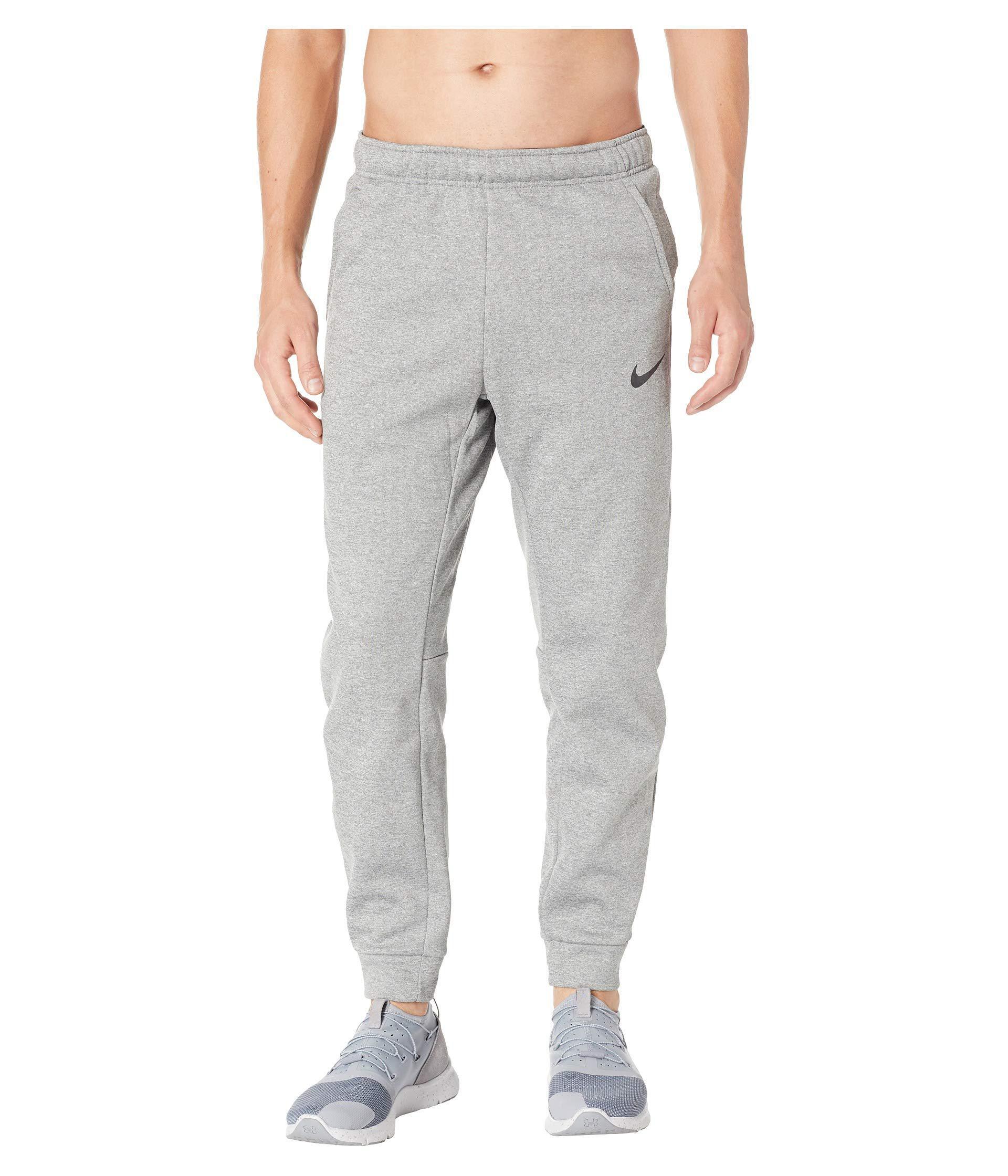 Lyst - Nike Thermal Taper Pants (dark Grey Heather black) Men s ... 414c0bc49