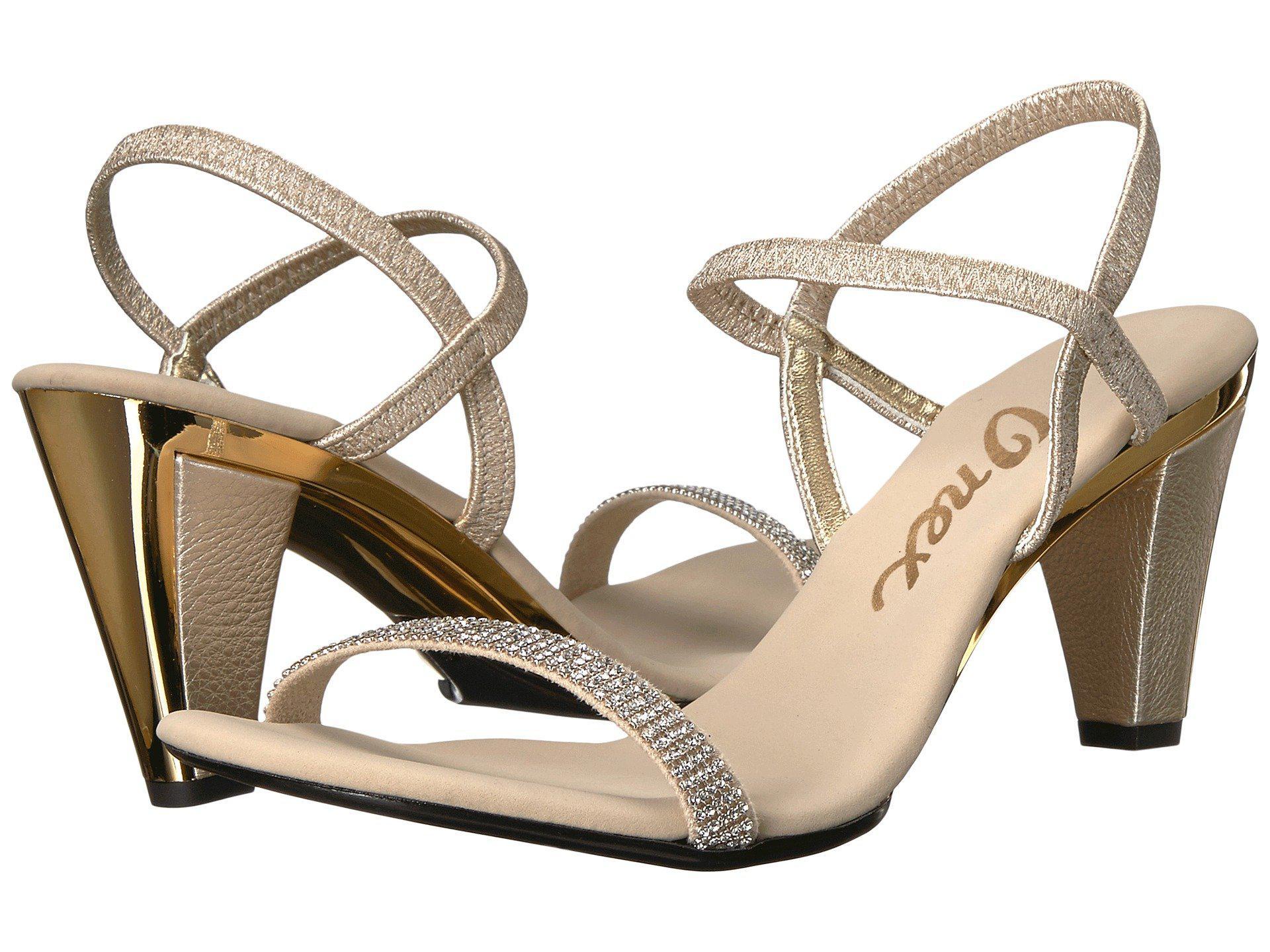 6910c0c8a Lyst - Onex Iced (black silver) Women s Dress Sandals