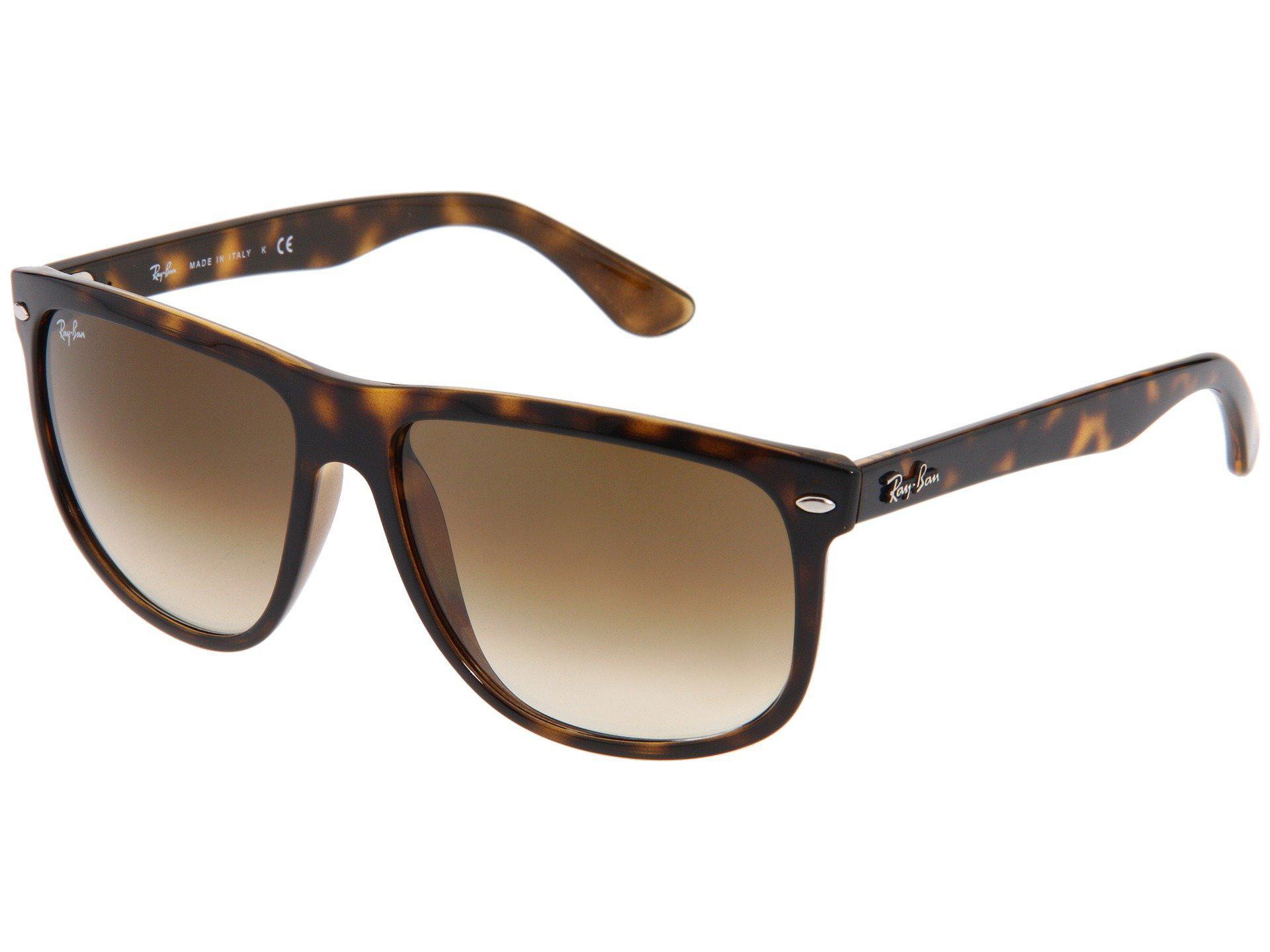 bb14a2bb6a5 Lyst - Ray-Ban Rb4147 Boyfriend (black black) Fashion Sunglasses in ...