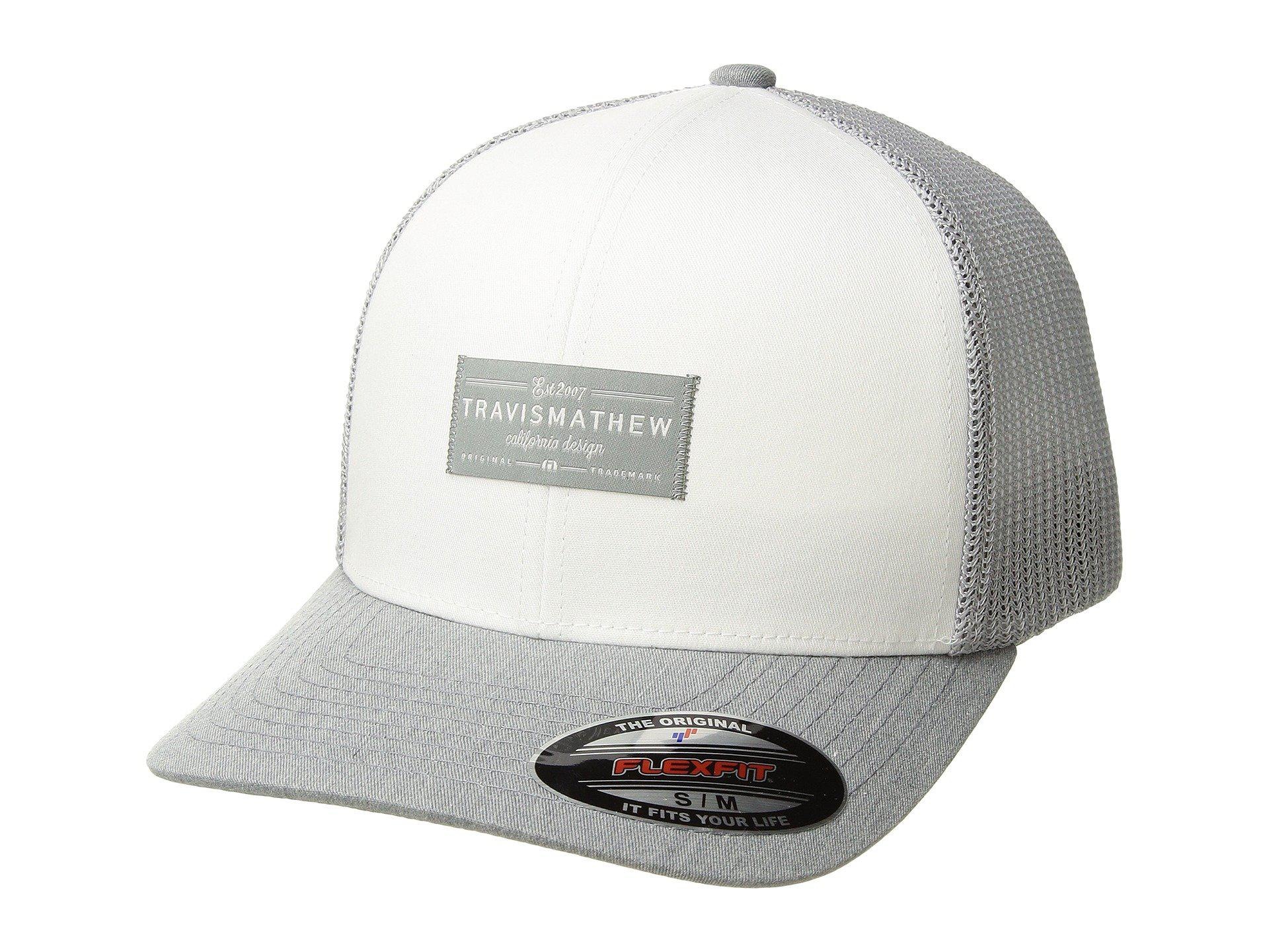 the best attitude f871b 99188 ... coupon code for spain lyst travis mathew zigrat white caps in white for  men fa942 2ea1a ...