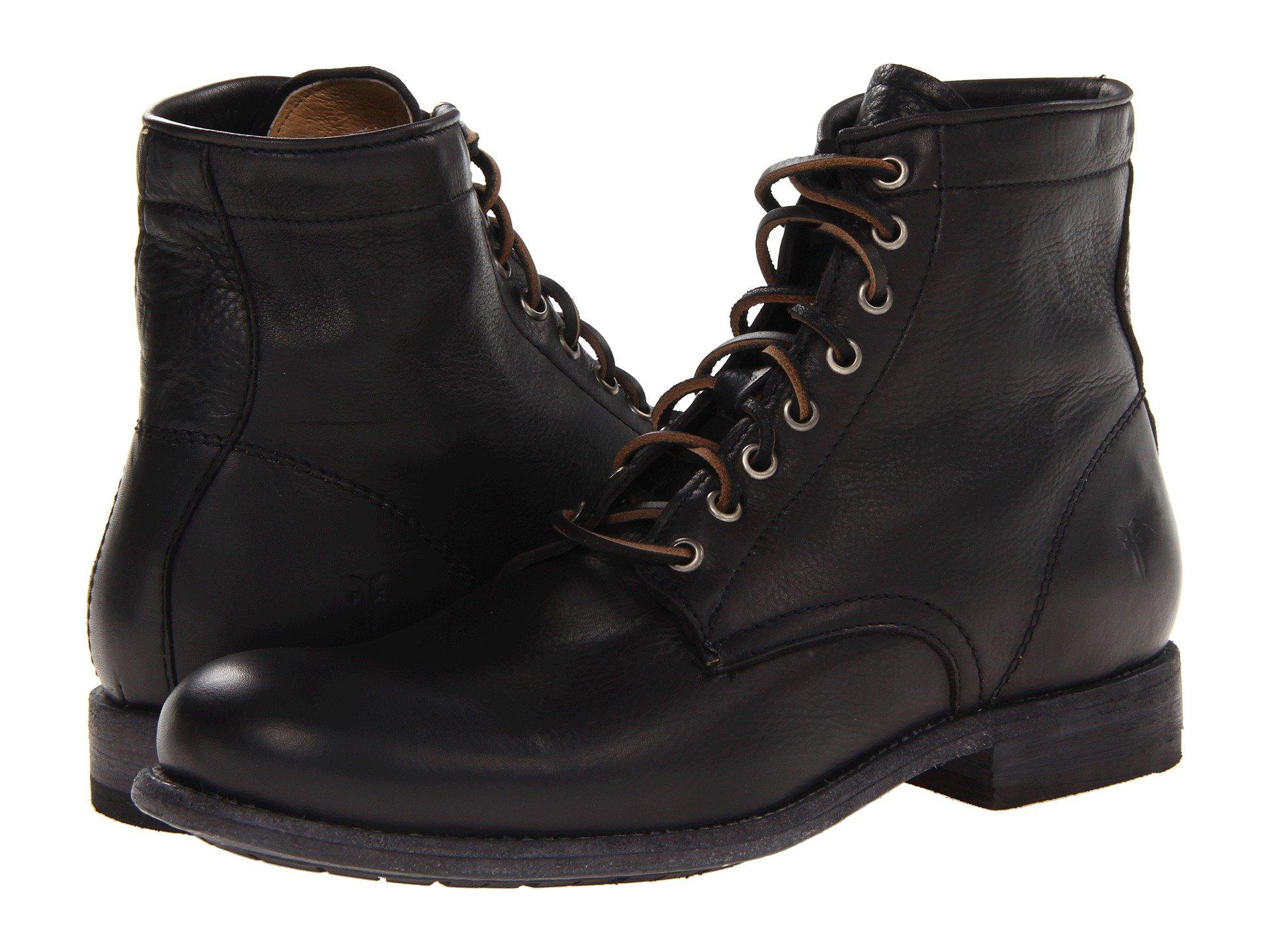 Frye. Men's Black Tyler Lace Up