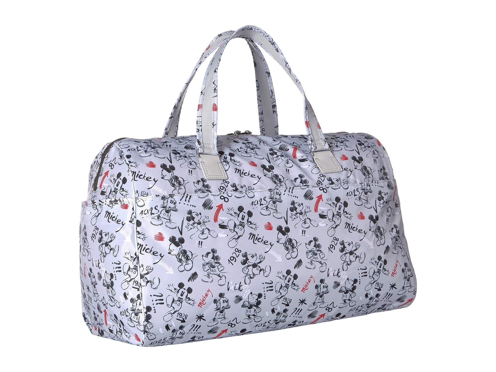 6b9dbcc8fb00 Kipling - Gray Disney Mickey Mouse Itska Duffel (sketch Red) Duffel Bags -  Lyst. View fullscreen