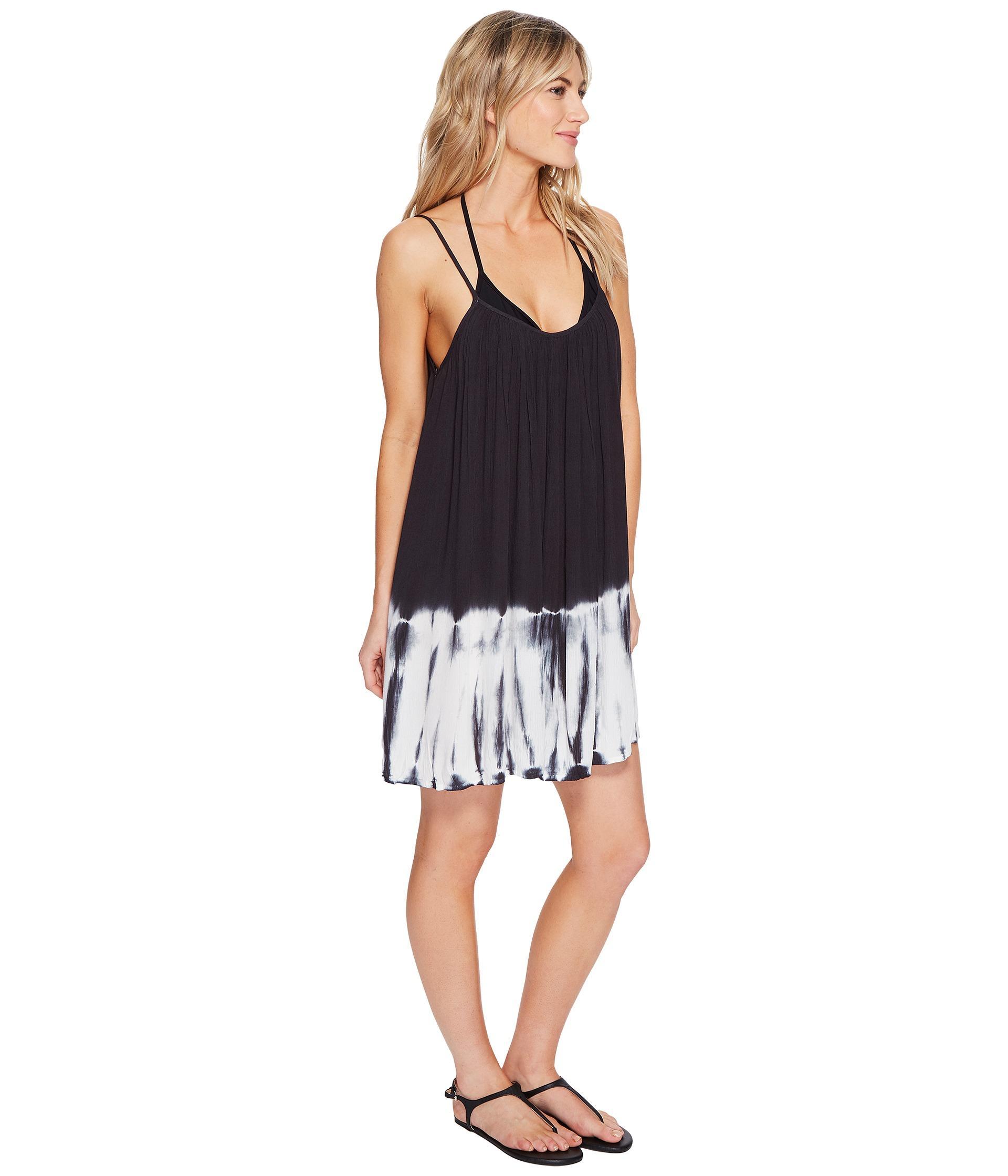 dfad4c572e Billabong Beach Cruise Dress Cover-up in Black - Lyst