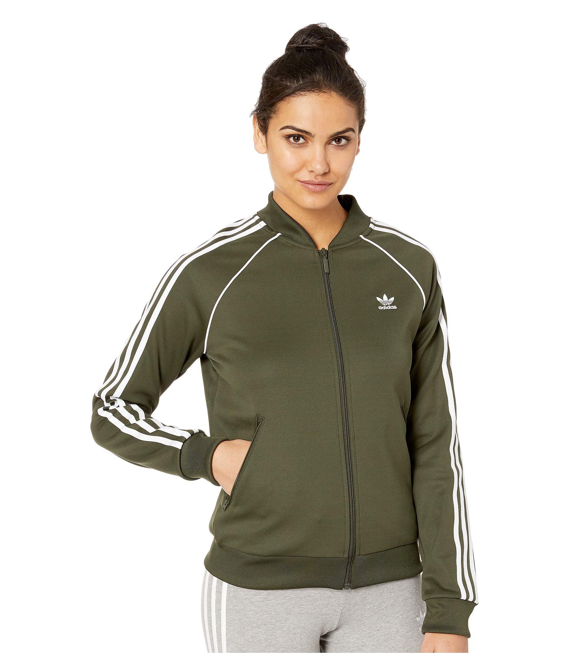 Lyst - adidas Originals Sst Track Jacket (dust Pink) Women s Coat in ... 79513a5571