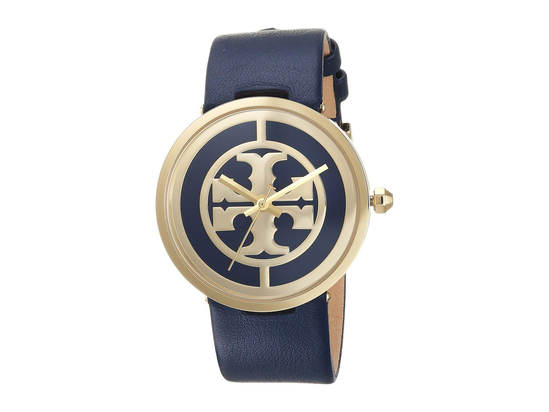 687bf1f6d93 Lyst - Tory Burch Reva - Tbw4021 (blue) Watches in Blue